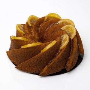 Bizcocho Bundt Cake naranja