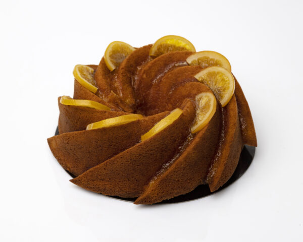 Bizcocho Bundt Cake naranja los postres de kelly coruña