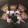 Piruletas chocolate coruña