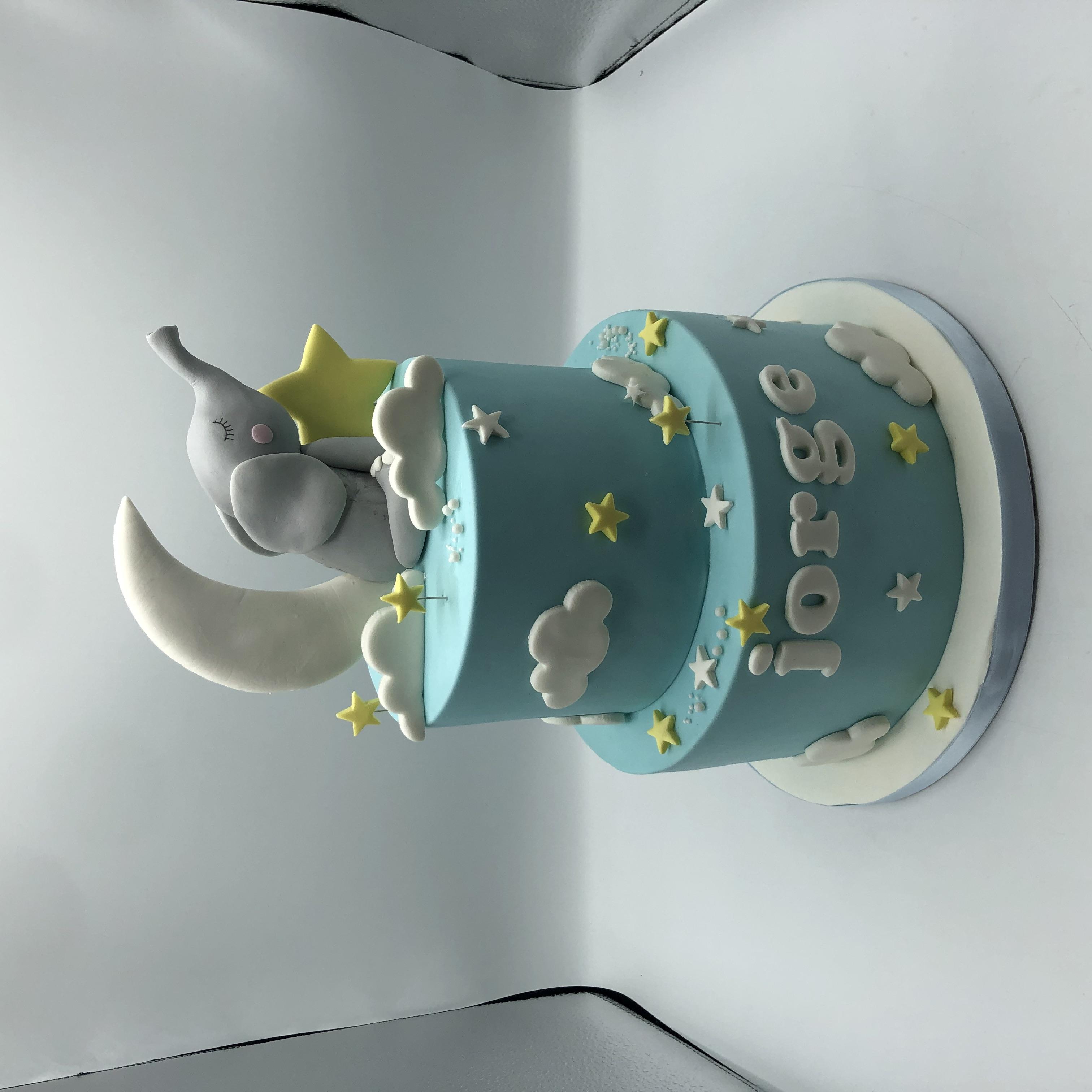 tarta bautizo coruña personalizada cumpleaños