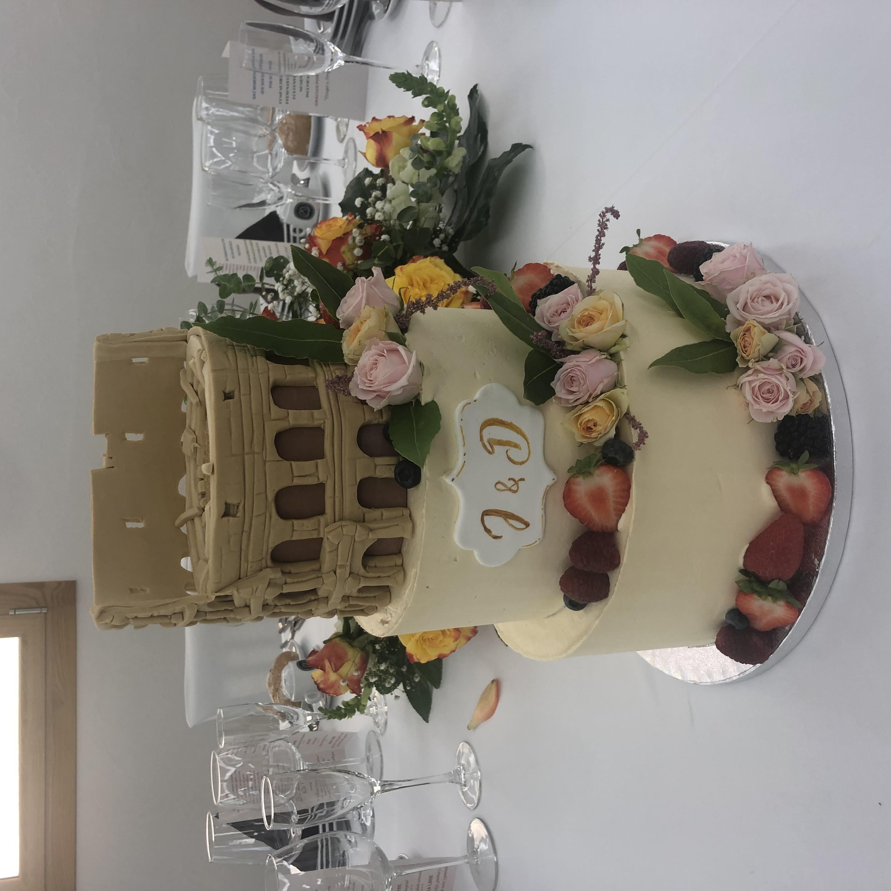 tarta boda coruña personalizada coruña Coliseum