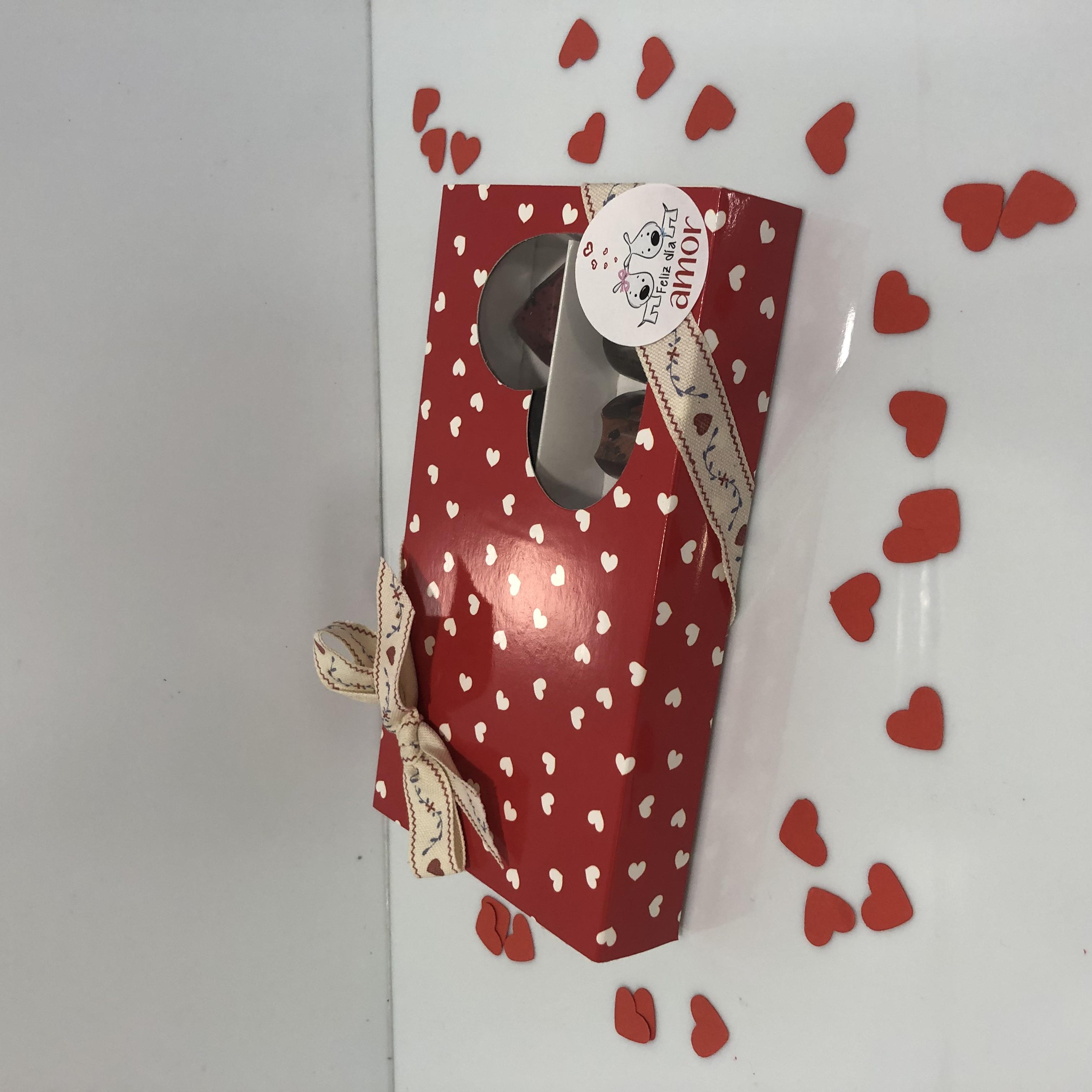 caja bombones chocolate artesanos san Valentin coruña