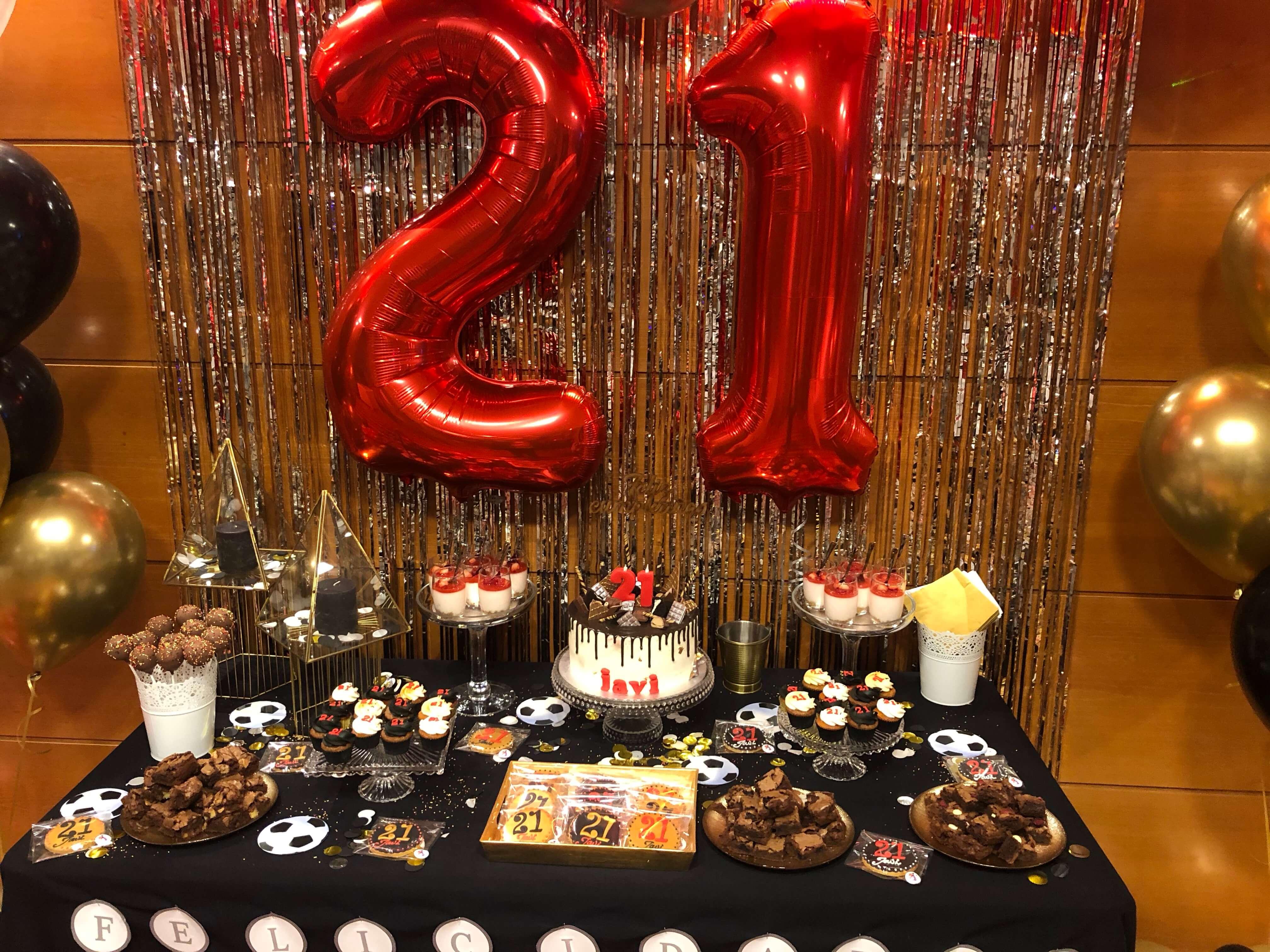 mesa dulce cumpleaños coruña los postres de kelly