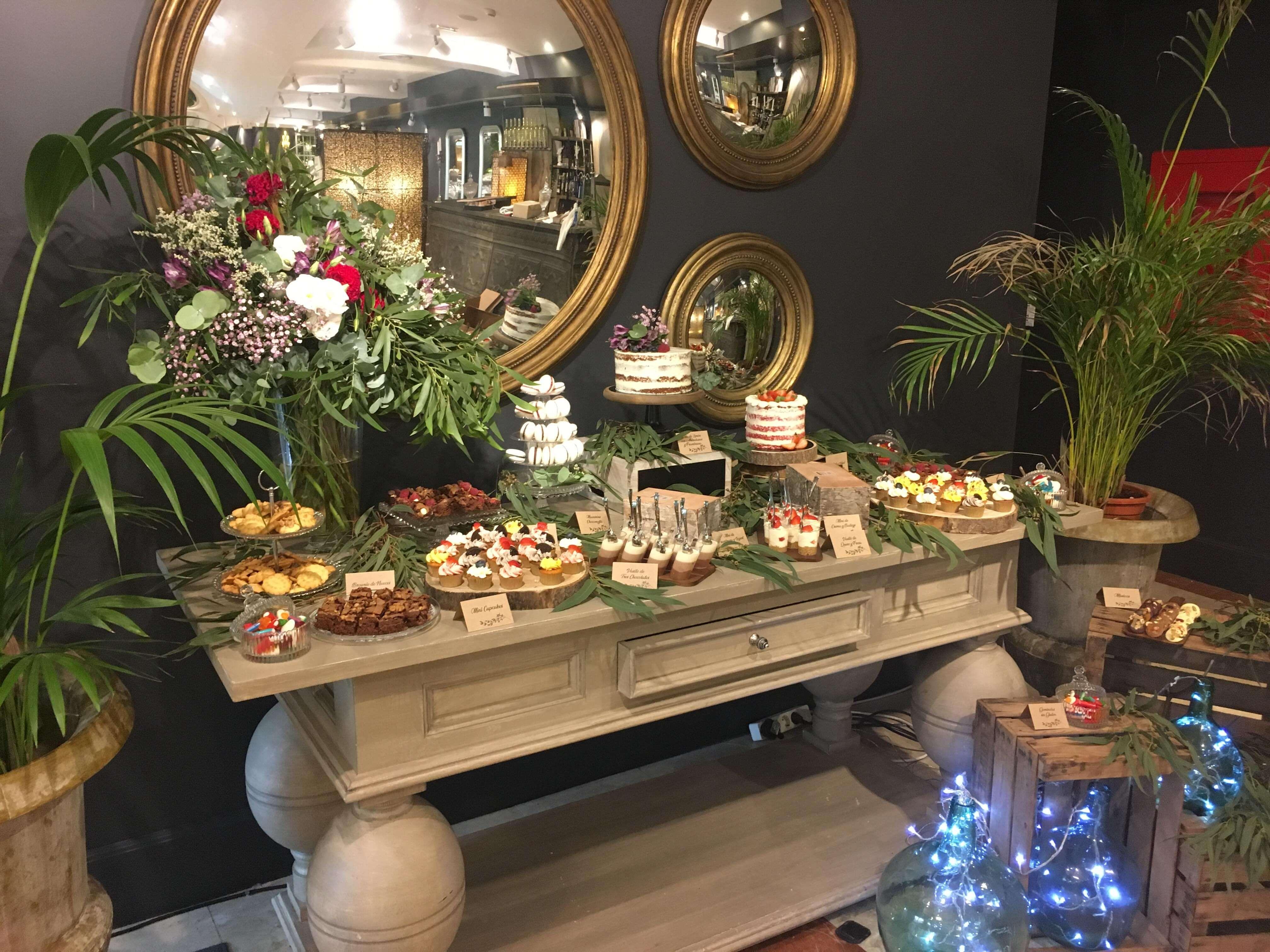 mesa dulce coruña boda comunión bautizo eventos boda mesa dulce