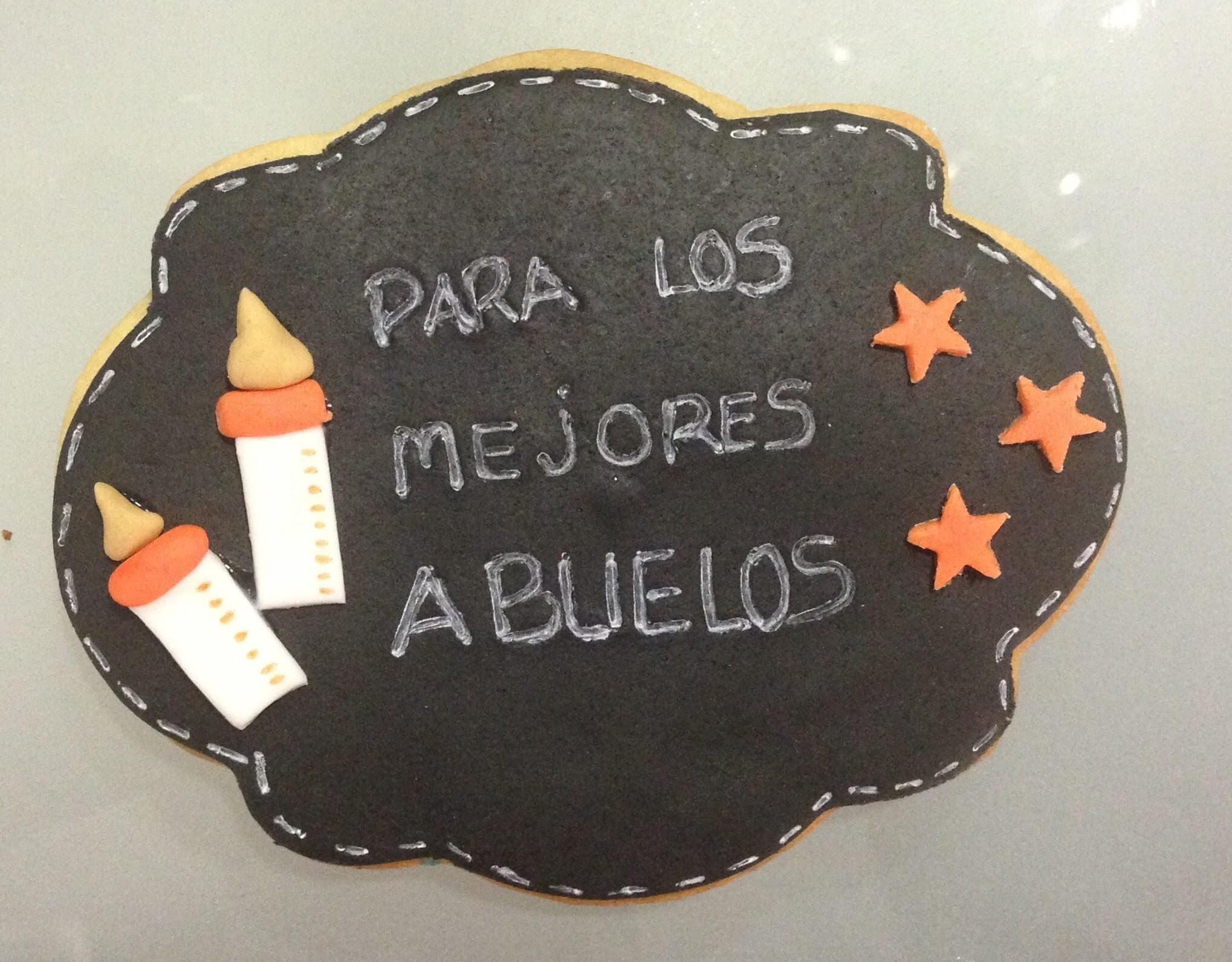 galleta bebe bautizo Coruña personalizada los postres de kelly