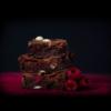 Coruña Brownie chocolate blanco y frambuesa