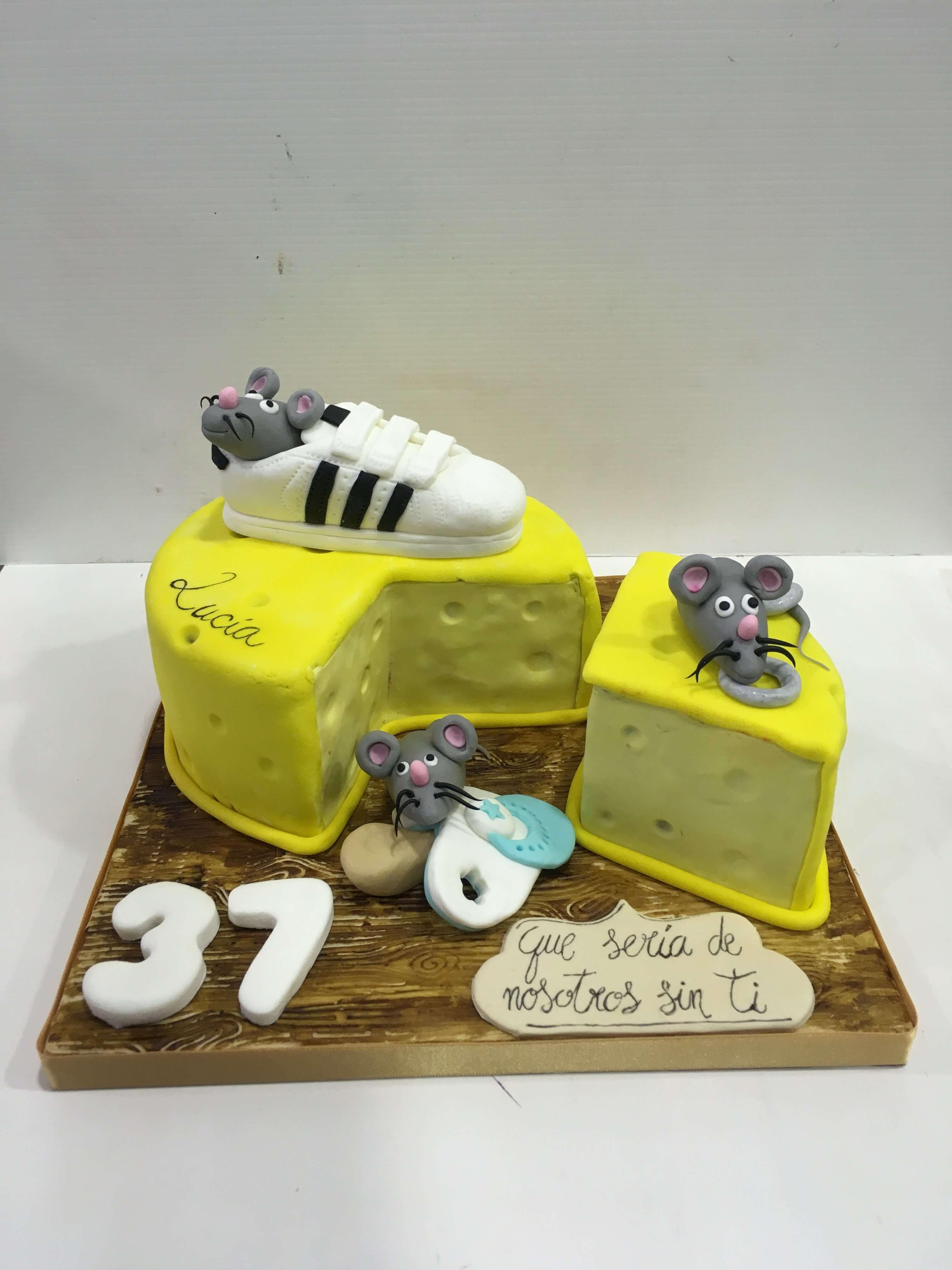 cumpleaños coruña tarta queso