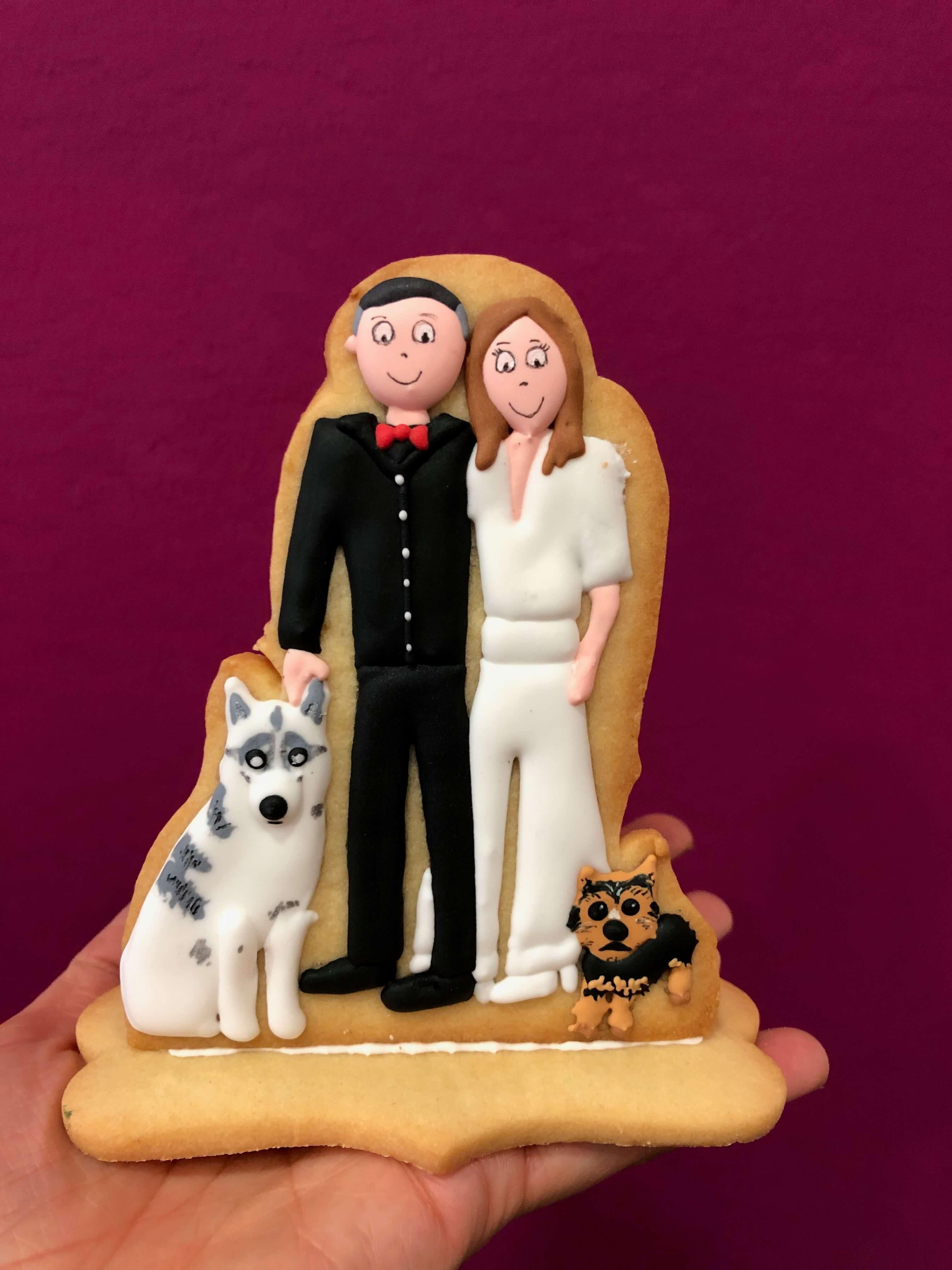 Galletas decoradas novios pareja familia coruña galletas novios galletas aniversario