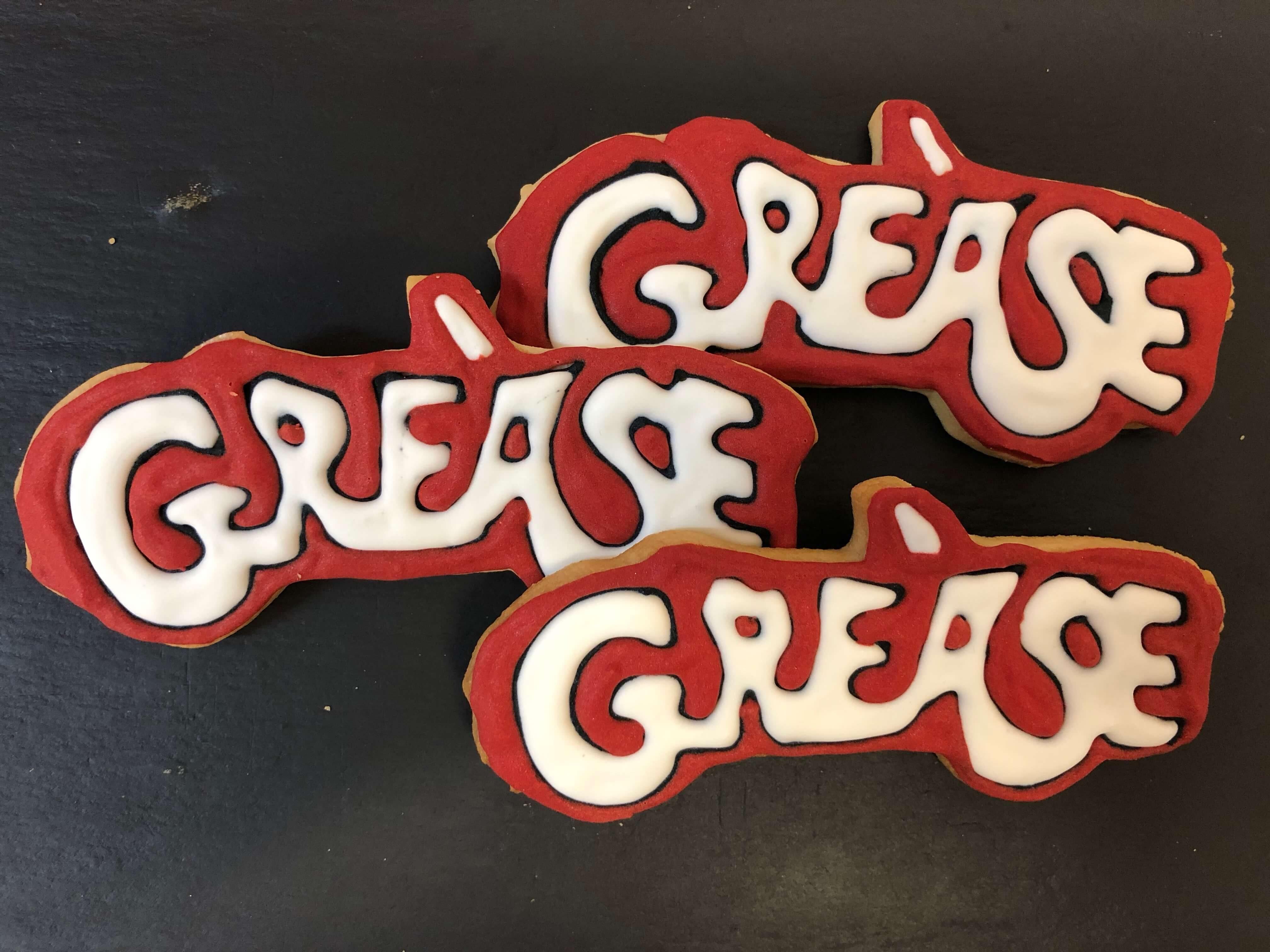 Galletas personalizadas cumpleaños decoradas Grease coruña