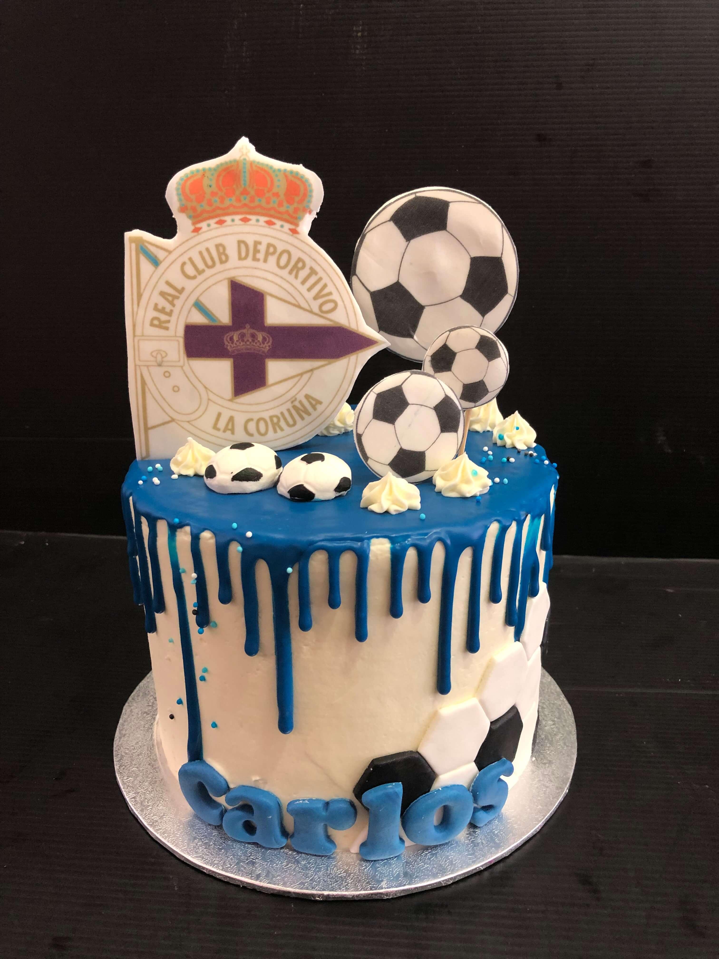 tarta cumpleaños deportivo coruña depor