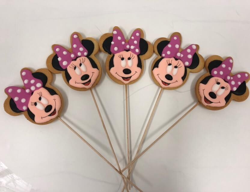 Galletas decoradas personalizadas Minnie coruña