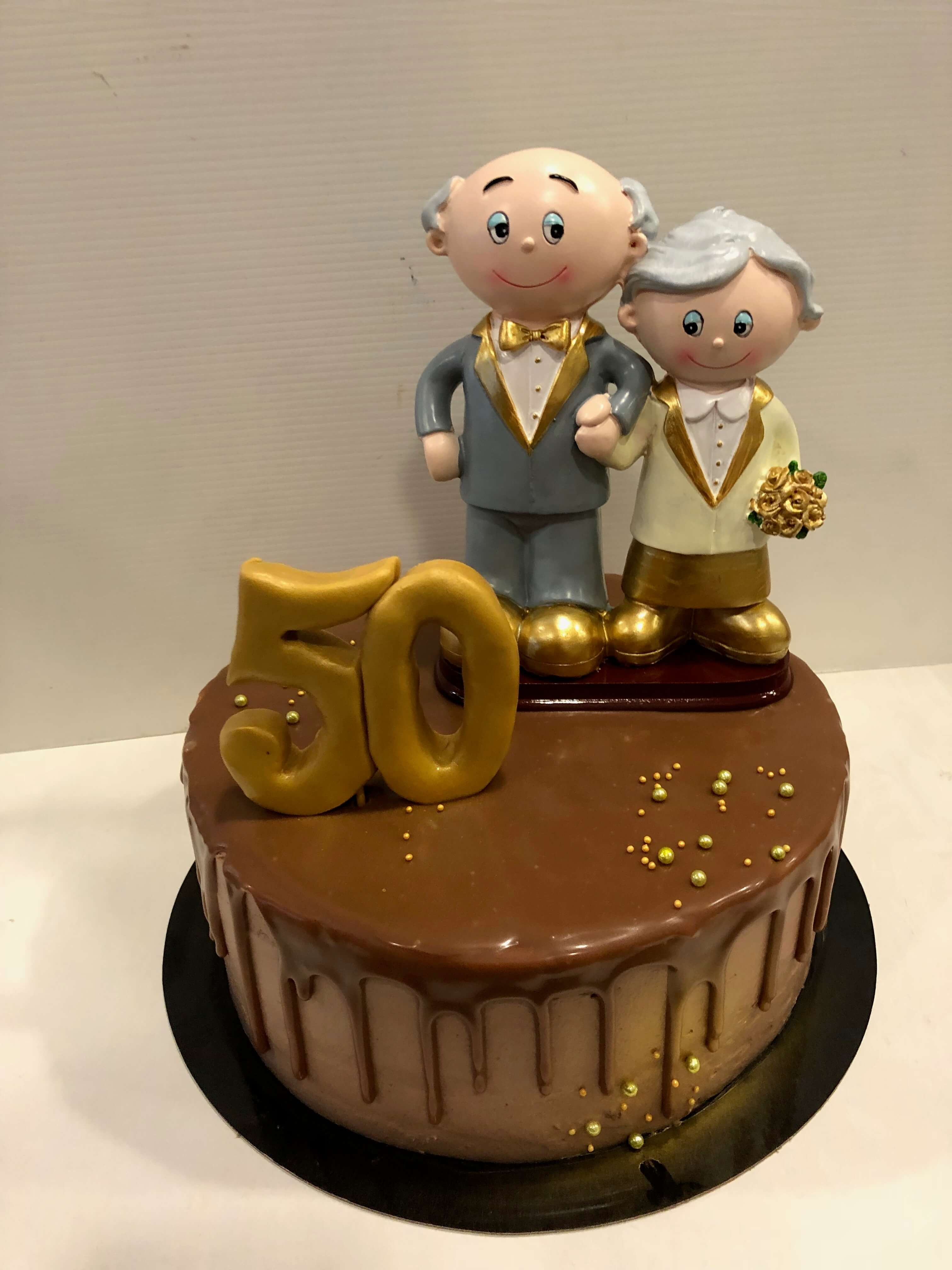 tarta bodas de oro coruña personalizada