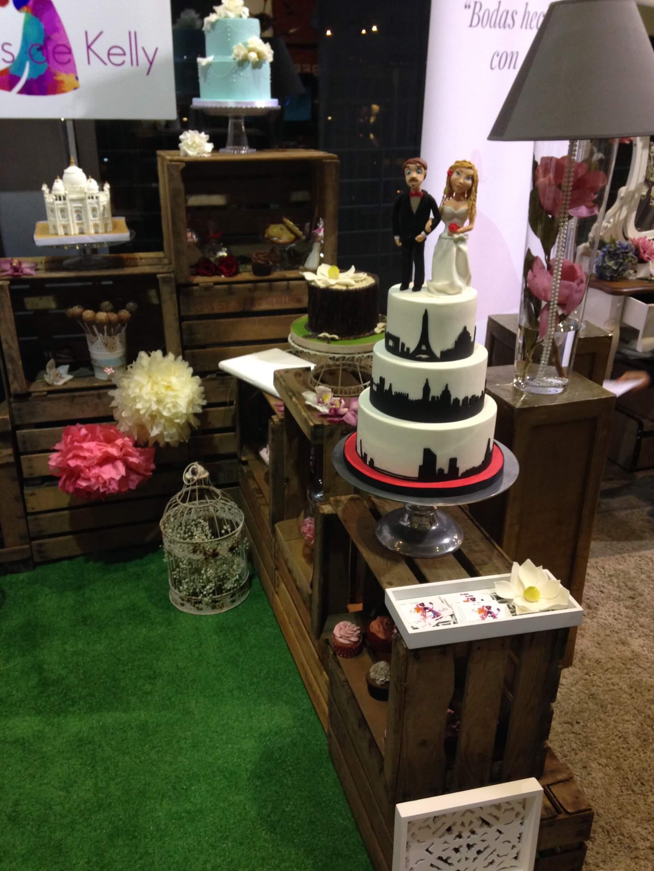 tarta boda novios personalizada coruña