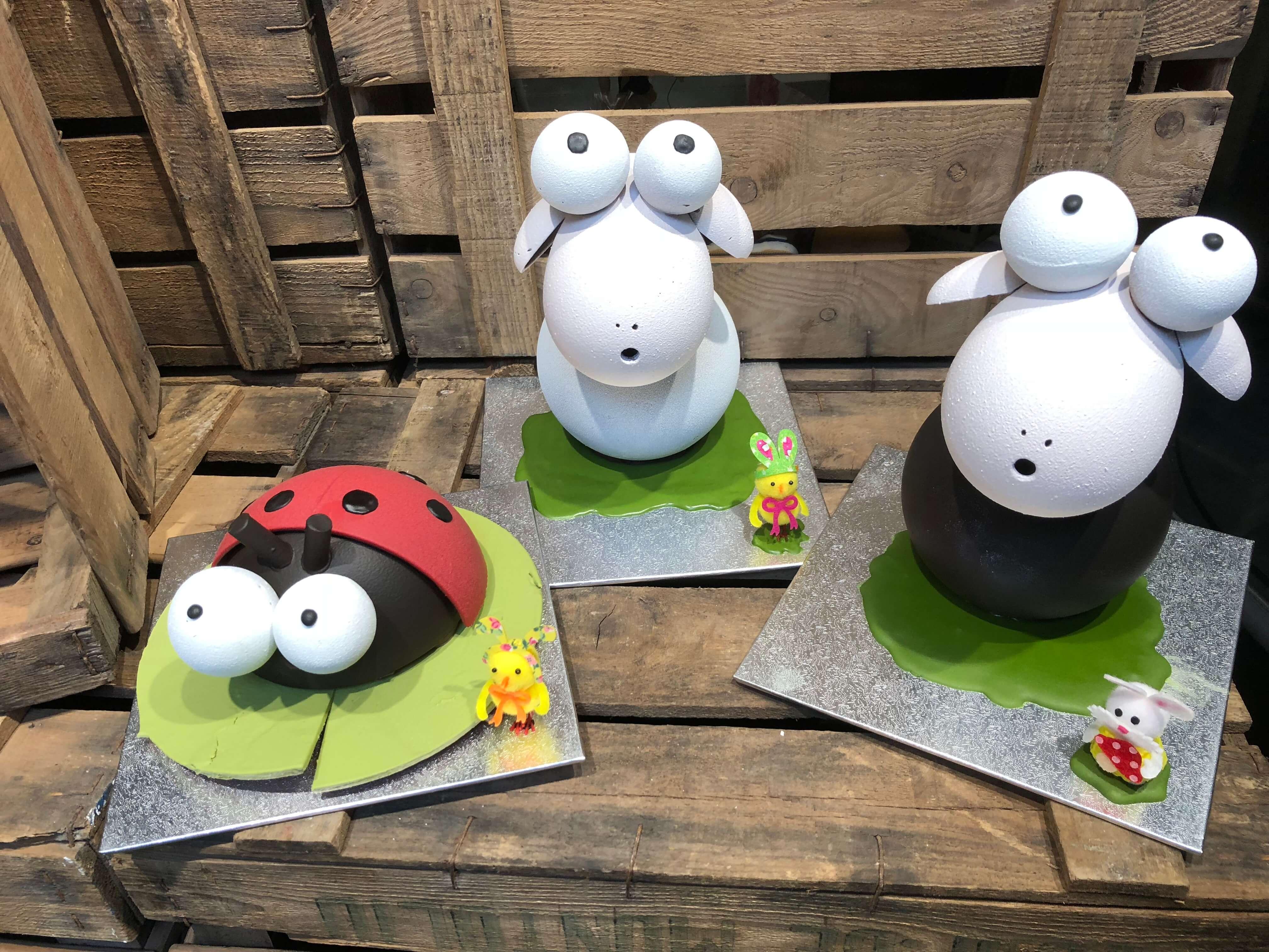 figuras de pascua huevos de pascua chocolate coruña