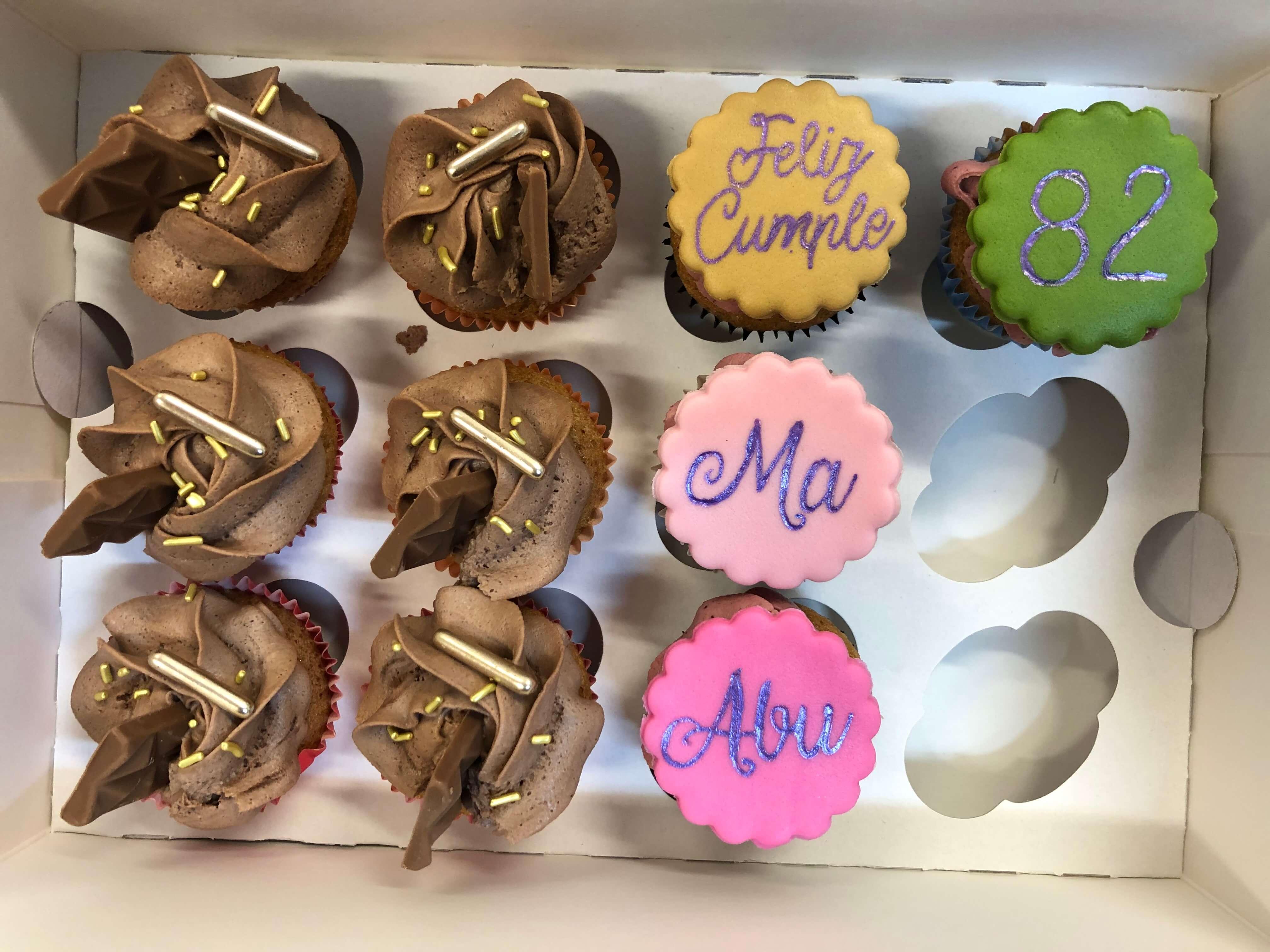 Minicupcakes sabores variados coruña