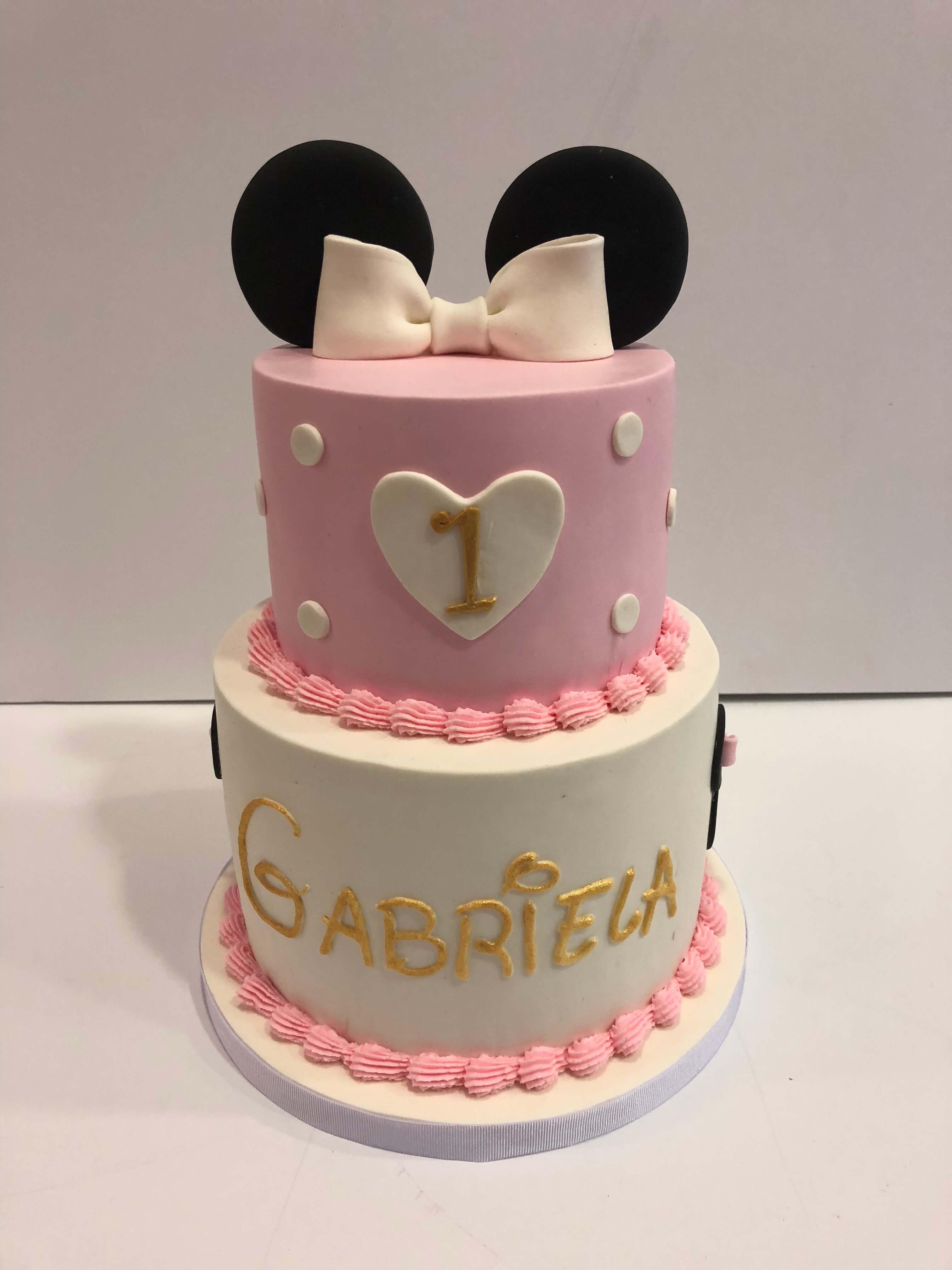 Tarta Minnie coruña cumpleaños