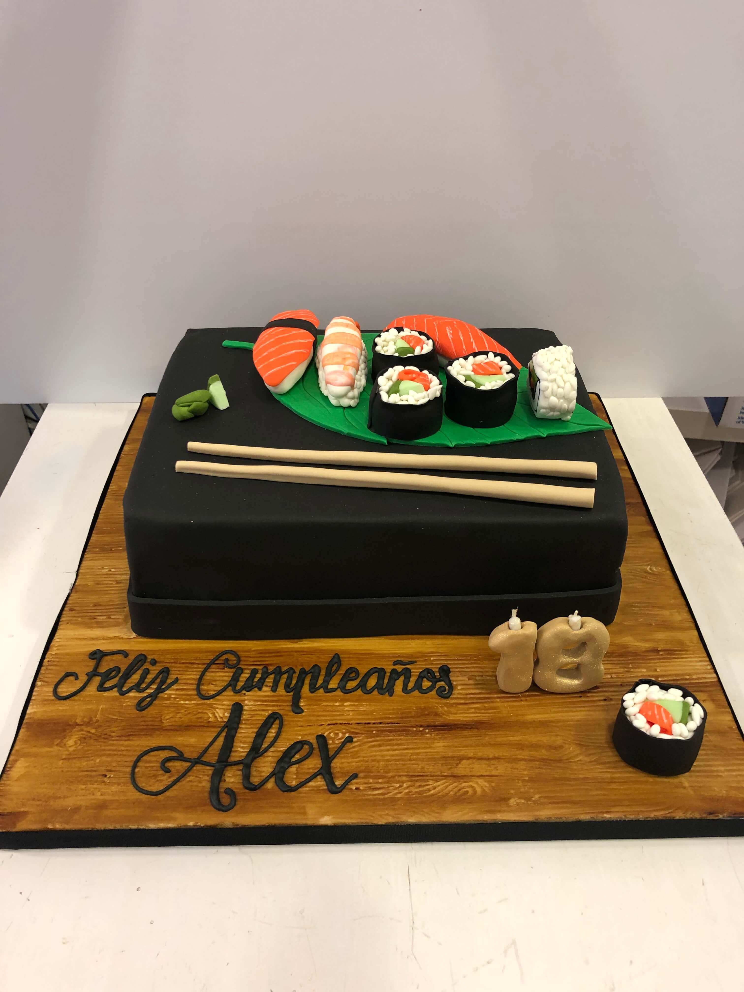 Tarta Personalizada coruña sushi