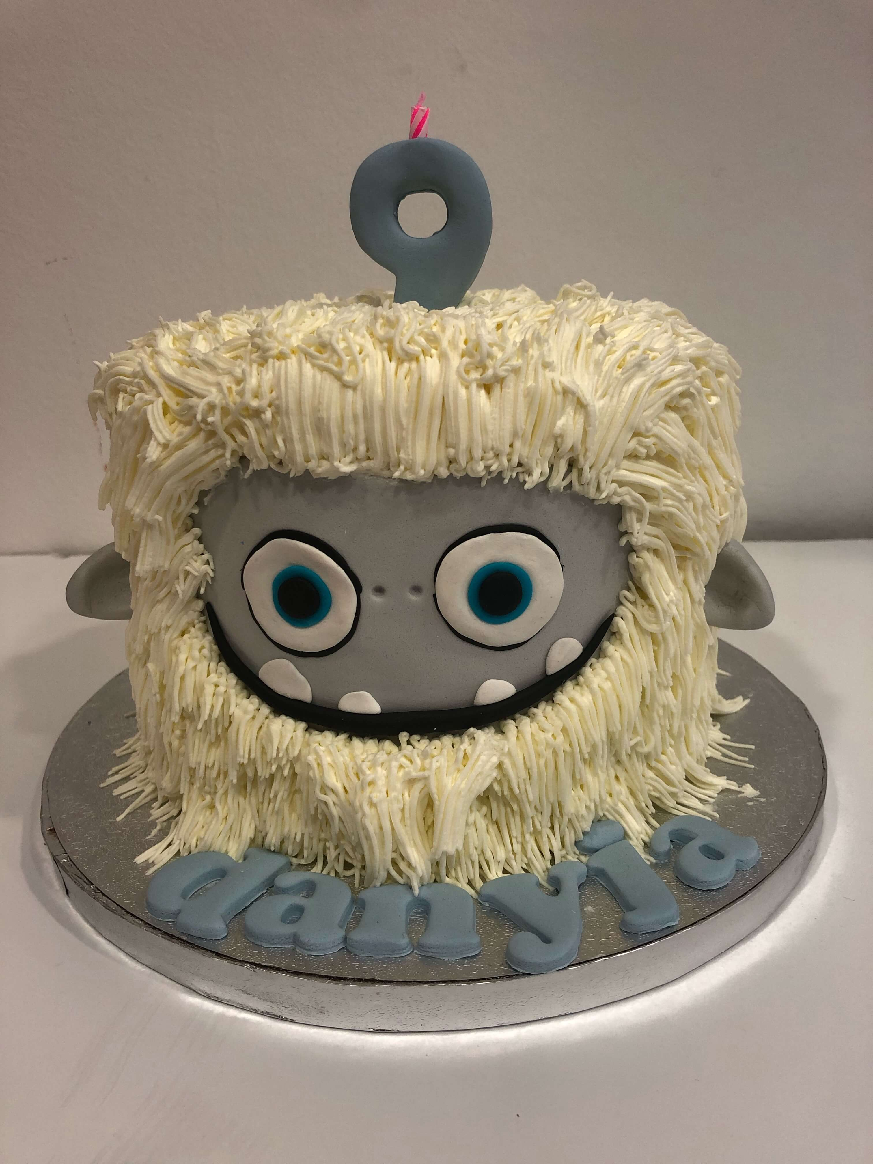 tarta monstruo cumpleaños