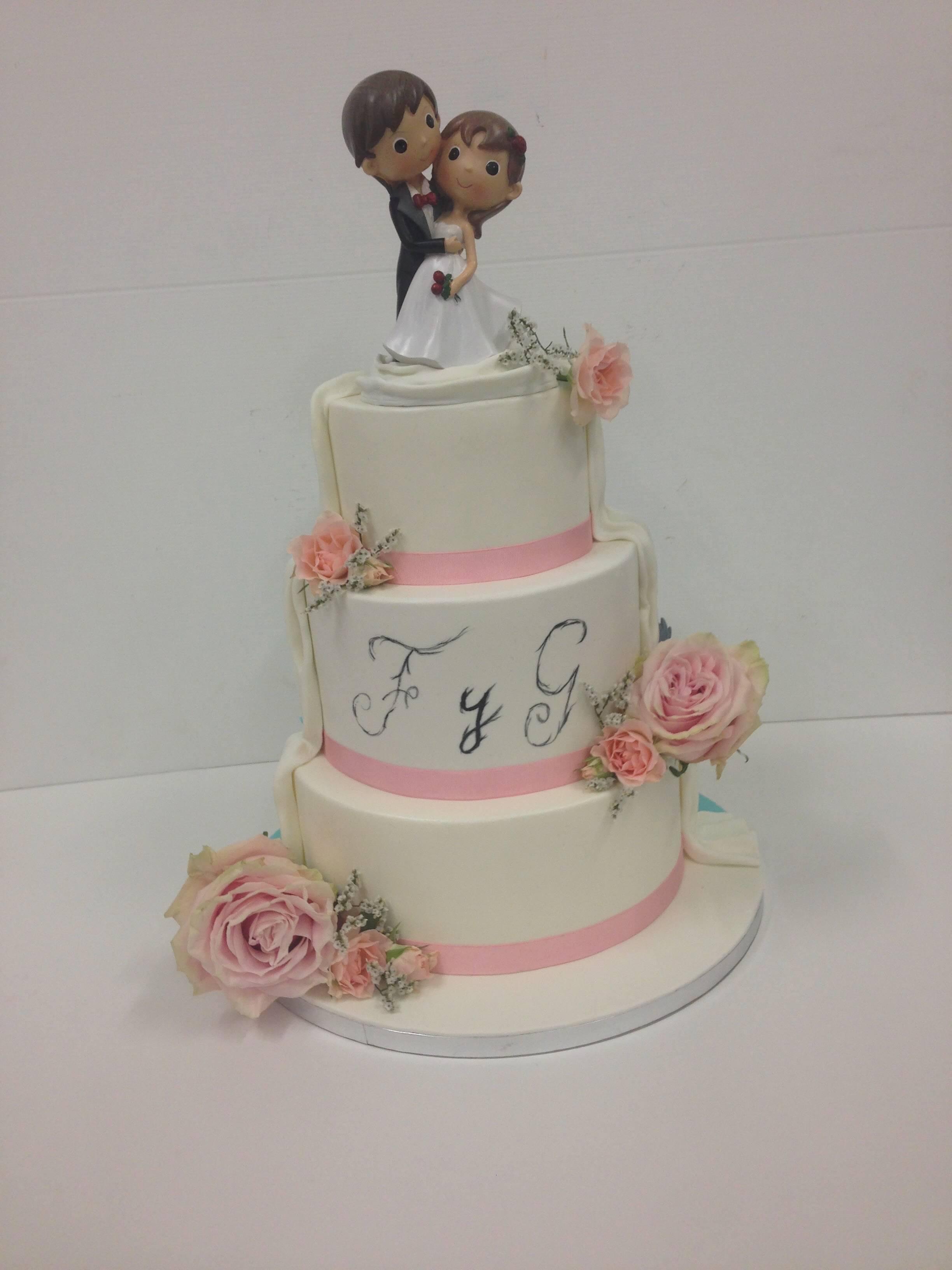 tarta boda coruña personalizada