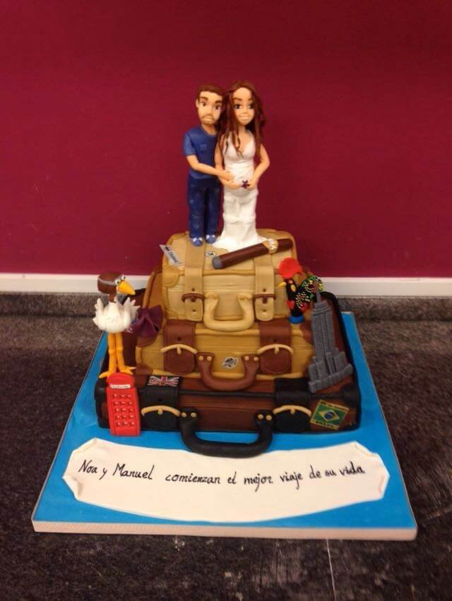 tarta boda personalizada coruña