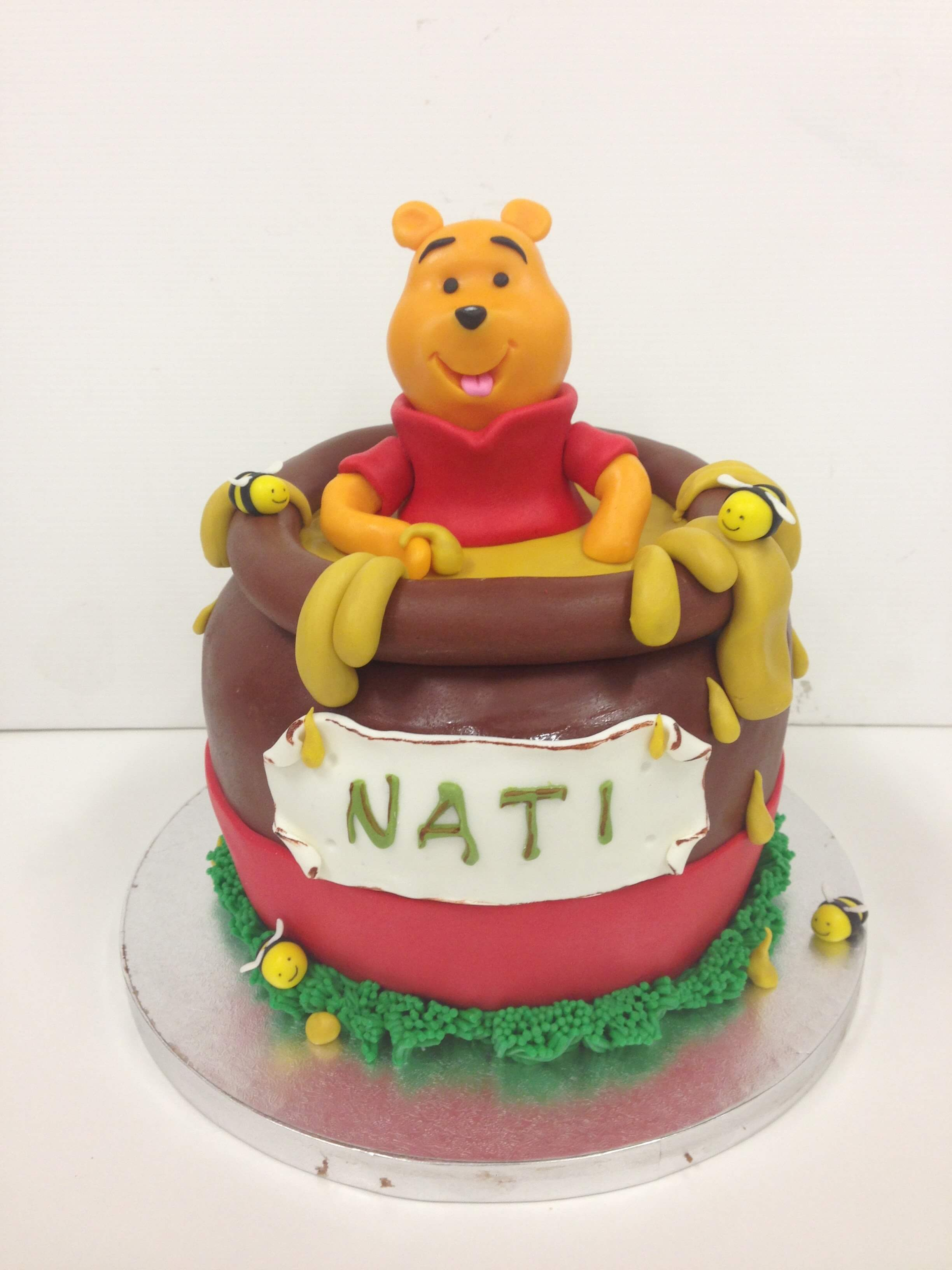 tarta winne de pooh cumpleaños Coruña