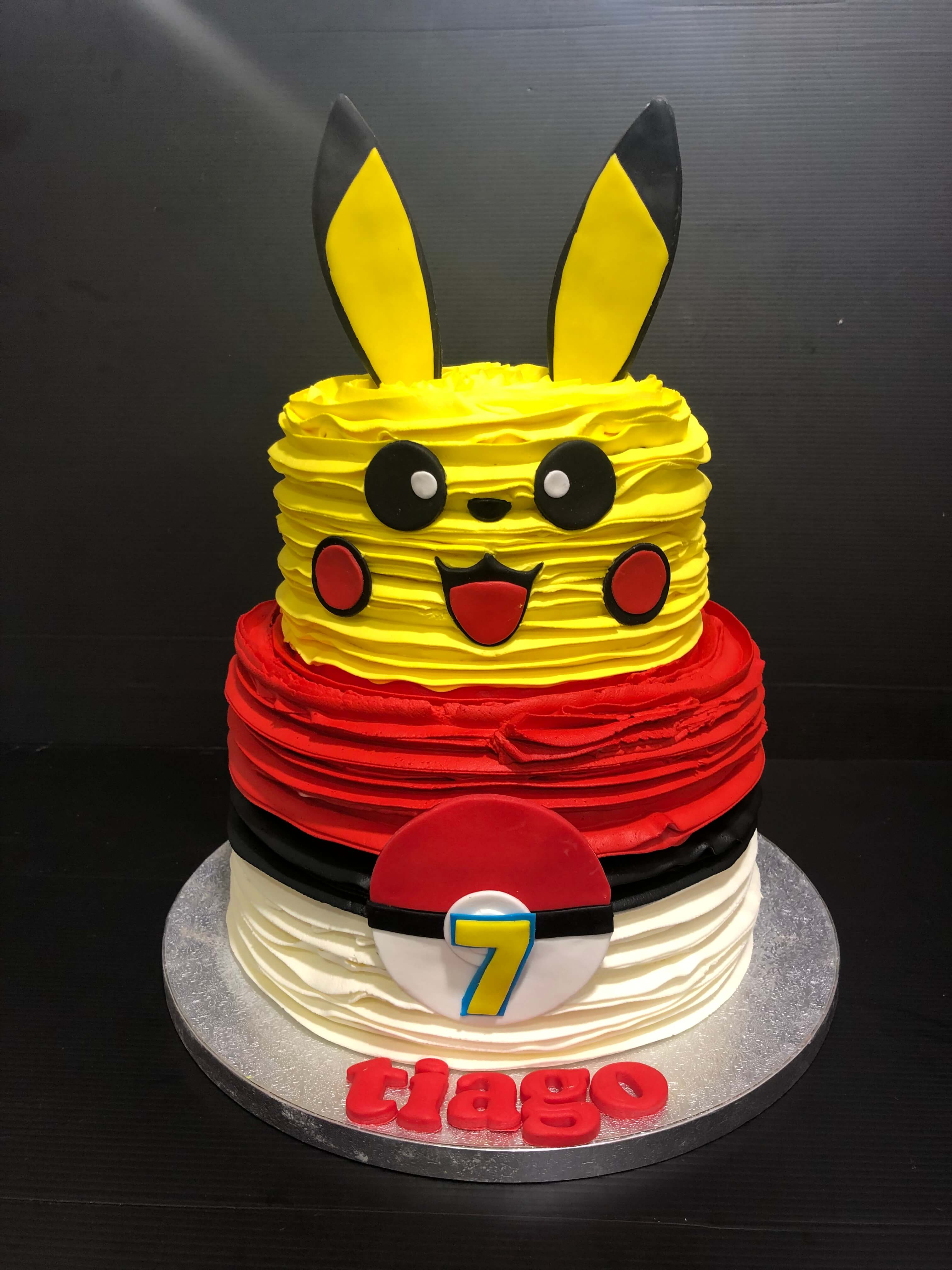 Tarta Pokemon personalizada cumpleaños