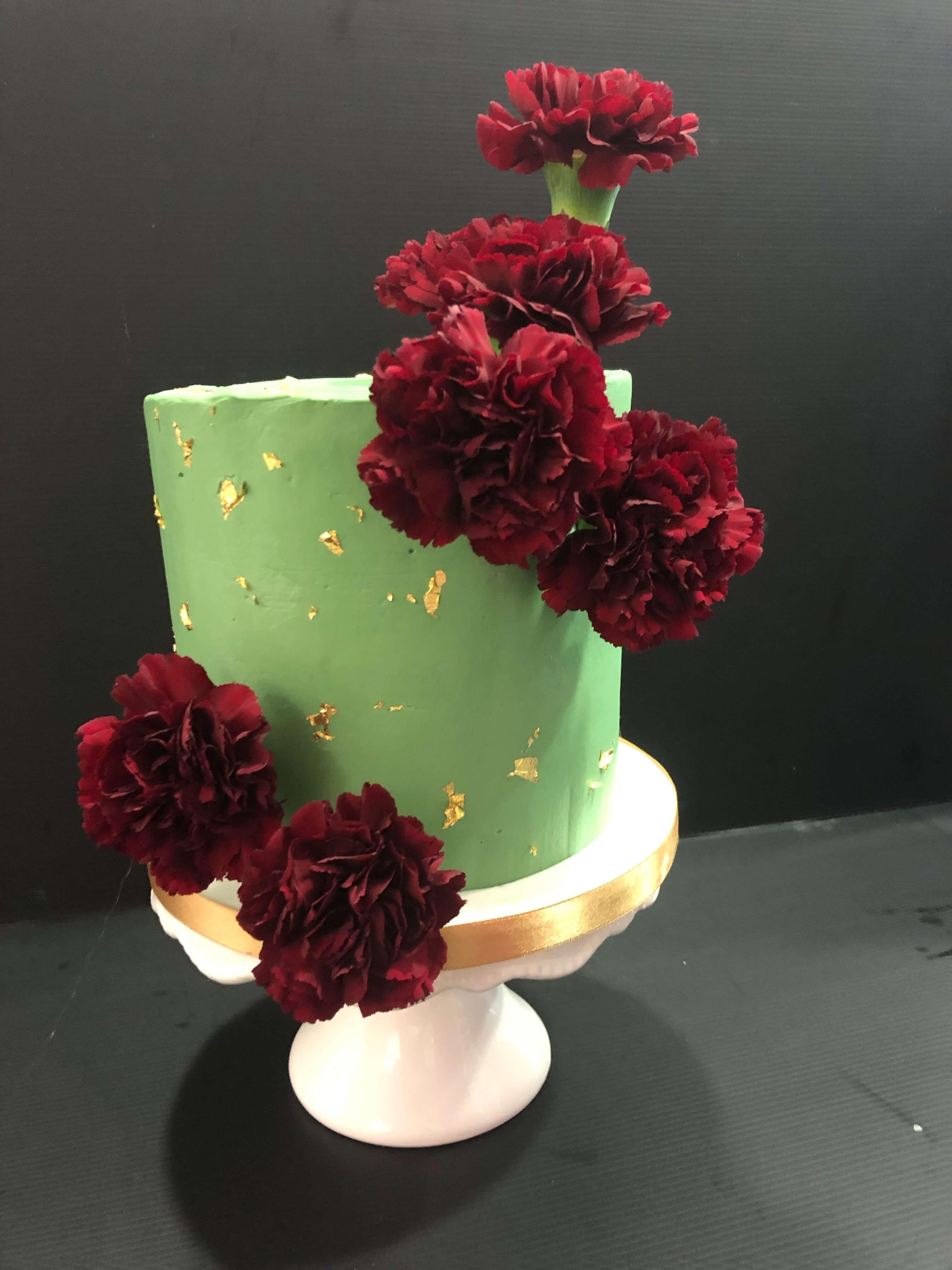 tarta boda flores coruña personalizada