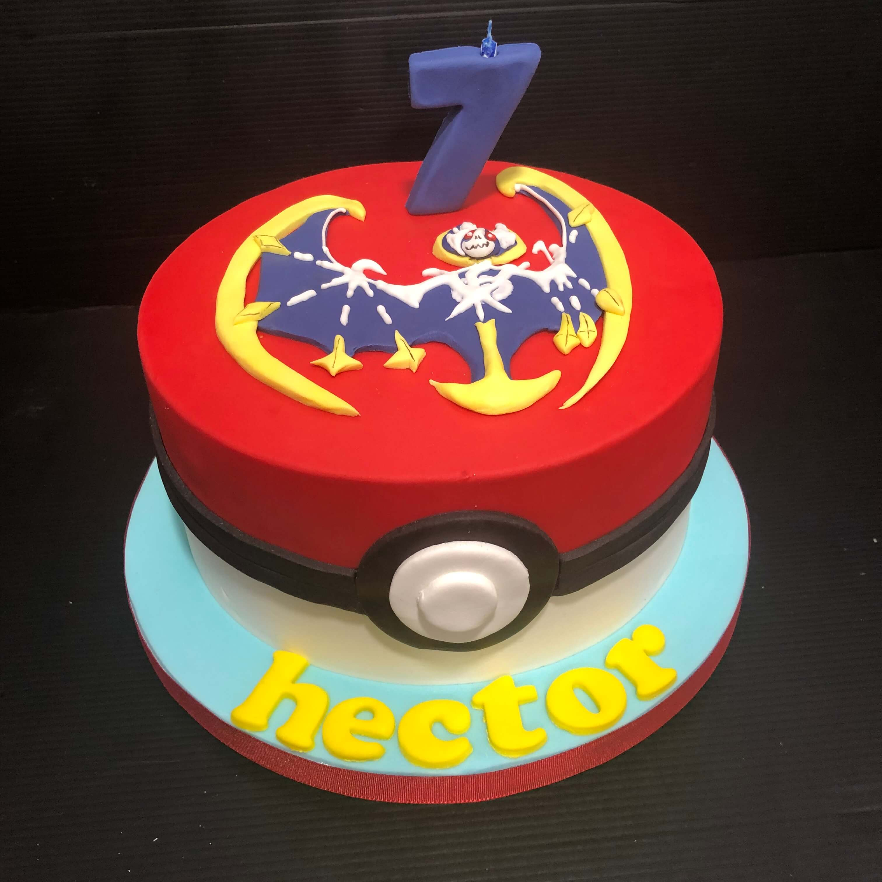tarta Pokemon cumpleaños Coruña