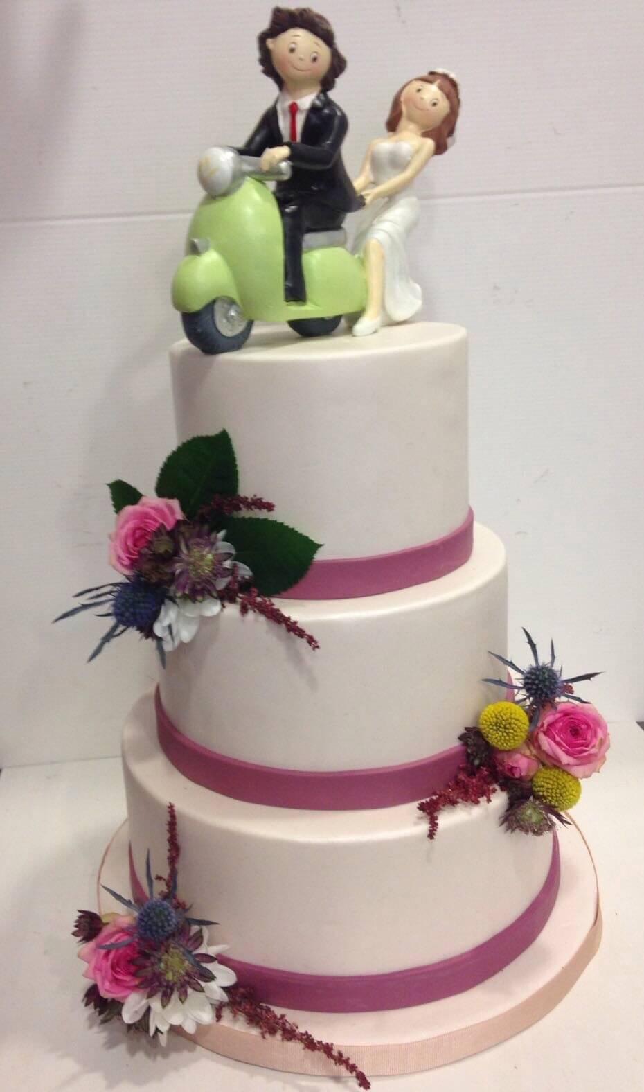 tarta boda personalizada coruña los postres de kelly