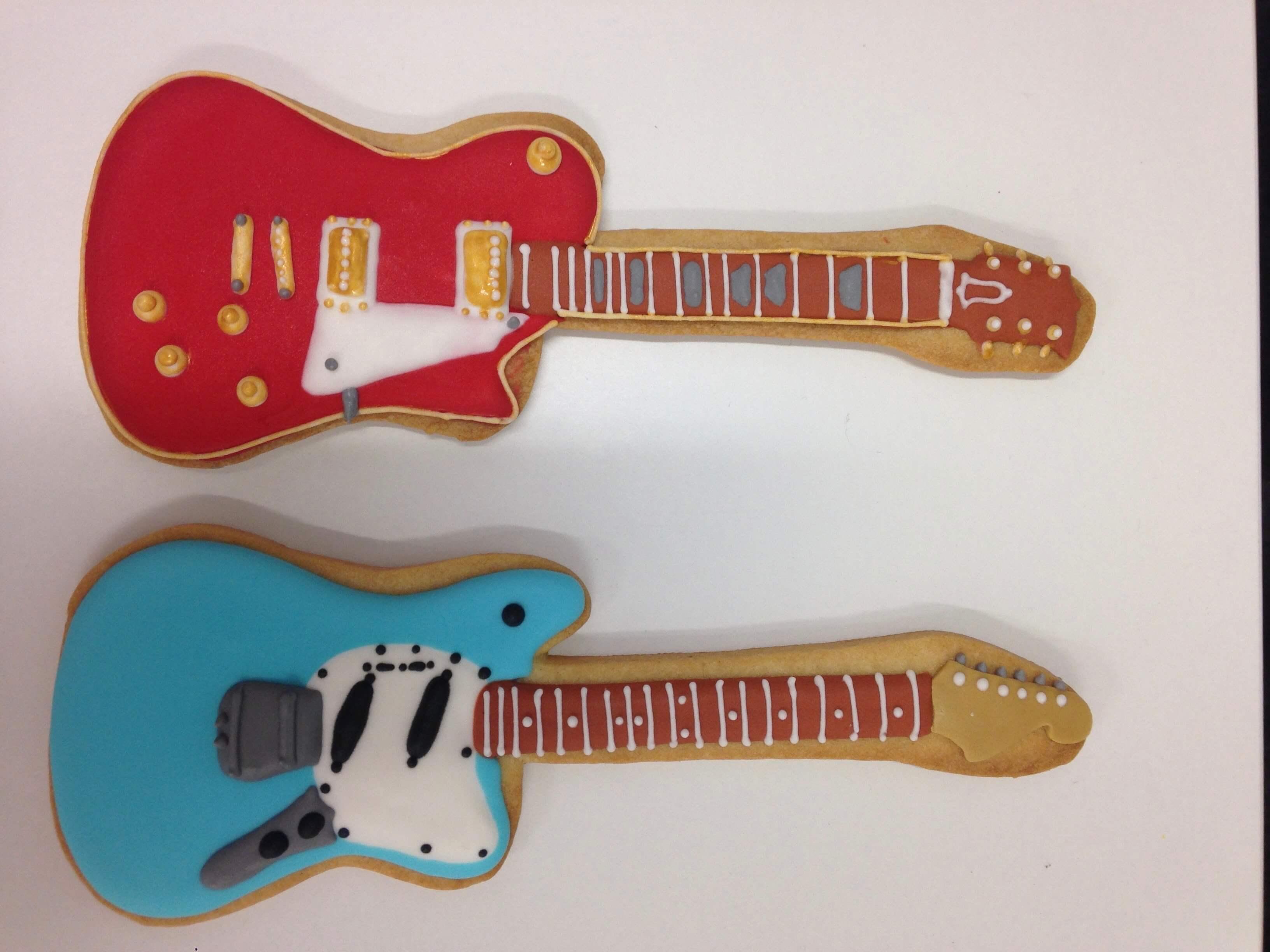 Galletas decoradas música notas musicales guitarra coruña galletas música
