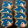 Galletas decoradas Sonic coruña