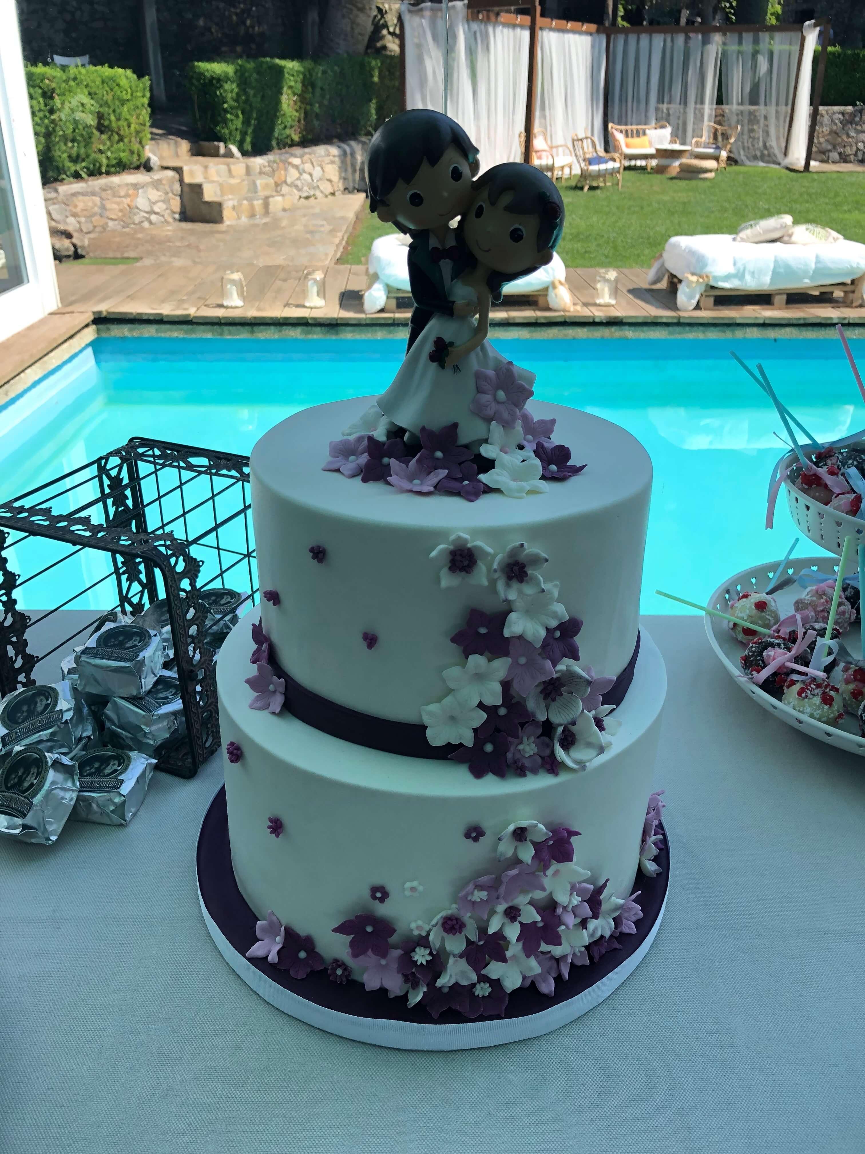 tarta boda coruña novios coruña aniversario los postres de kelly