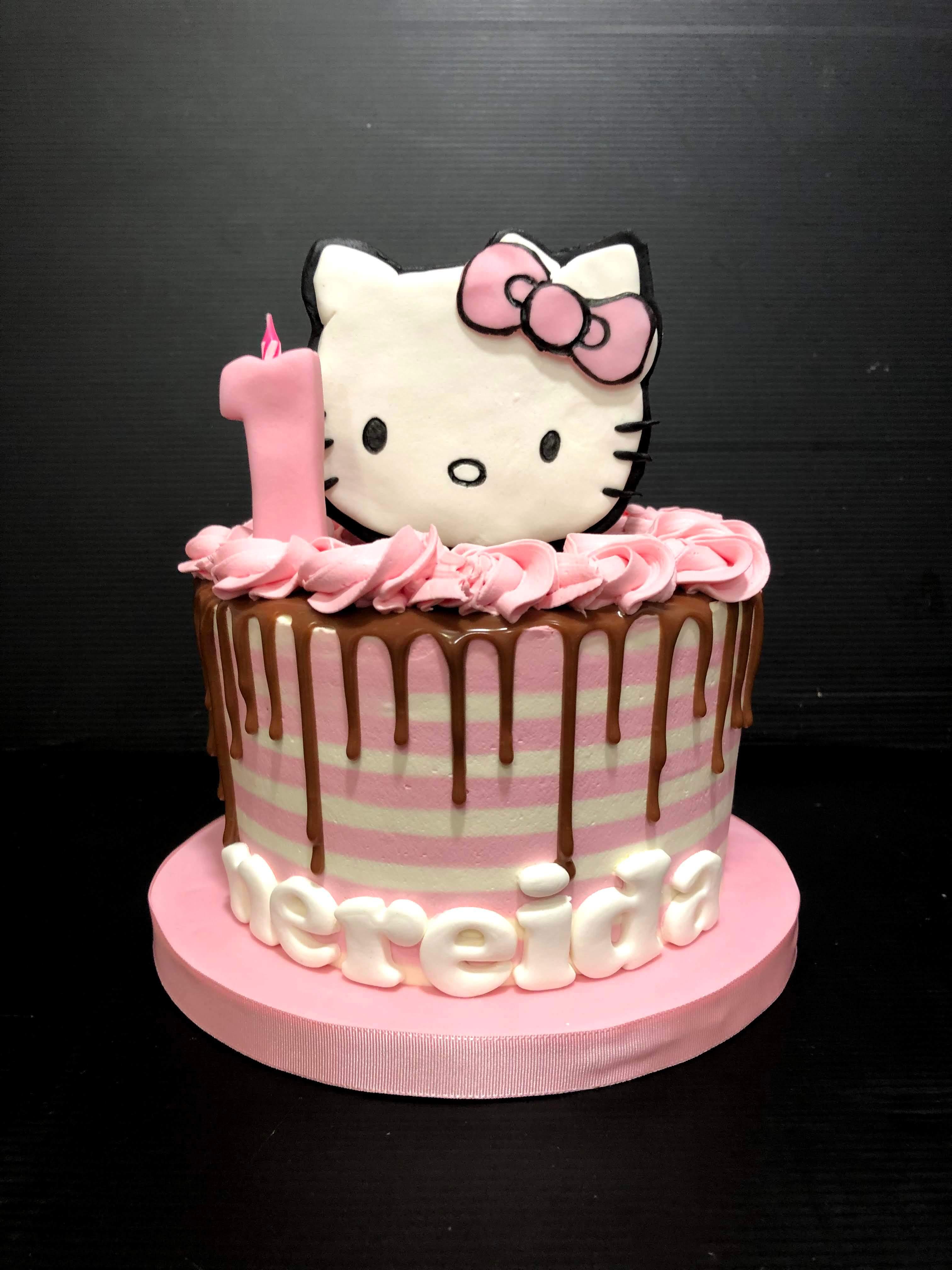 Tarta cumpleaños Hello Kitty coruña