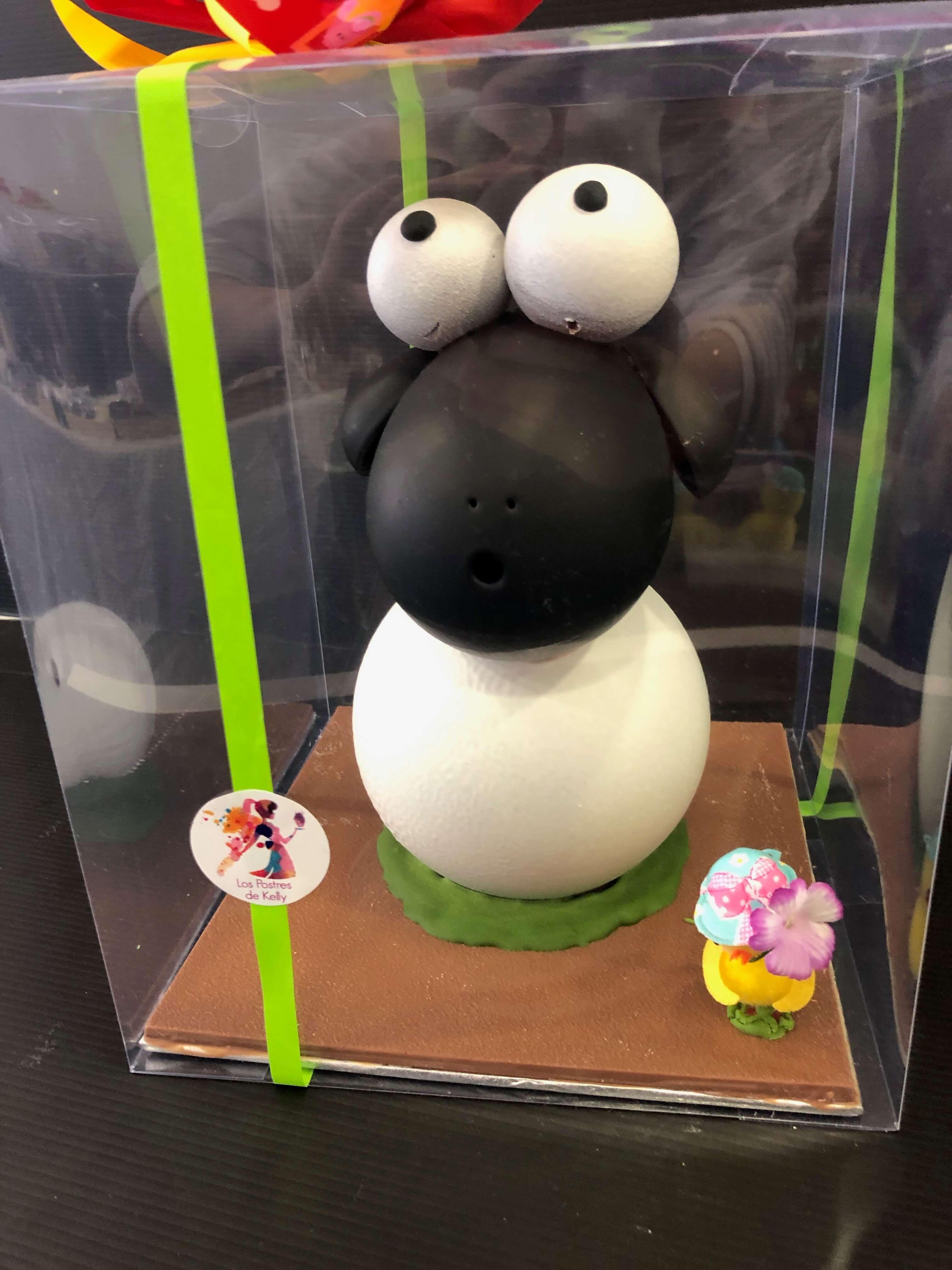 huevo de pascua figura de pascua coruña oveja