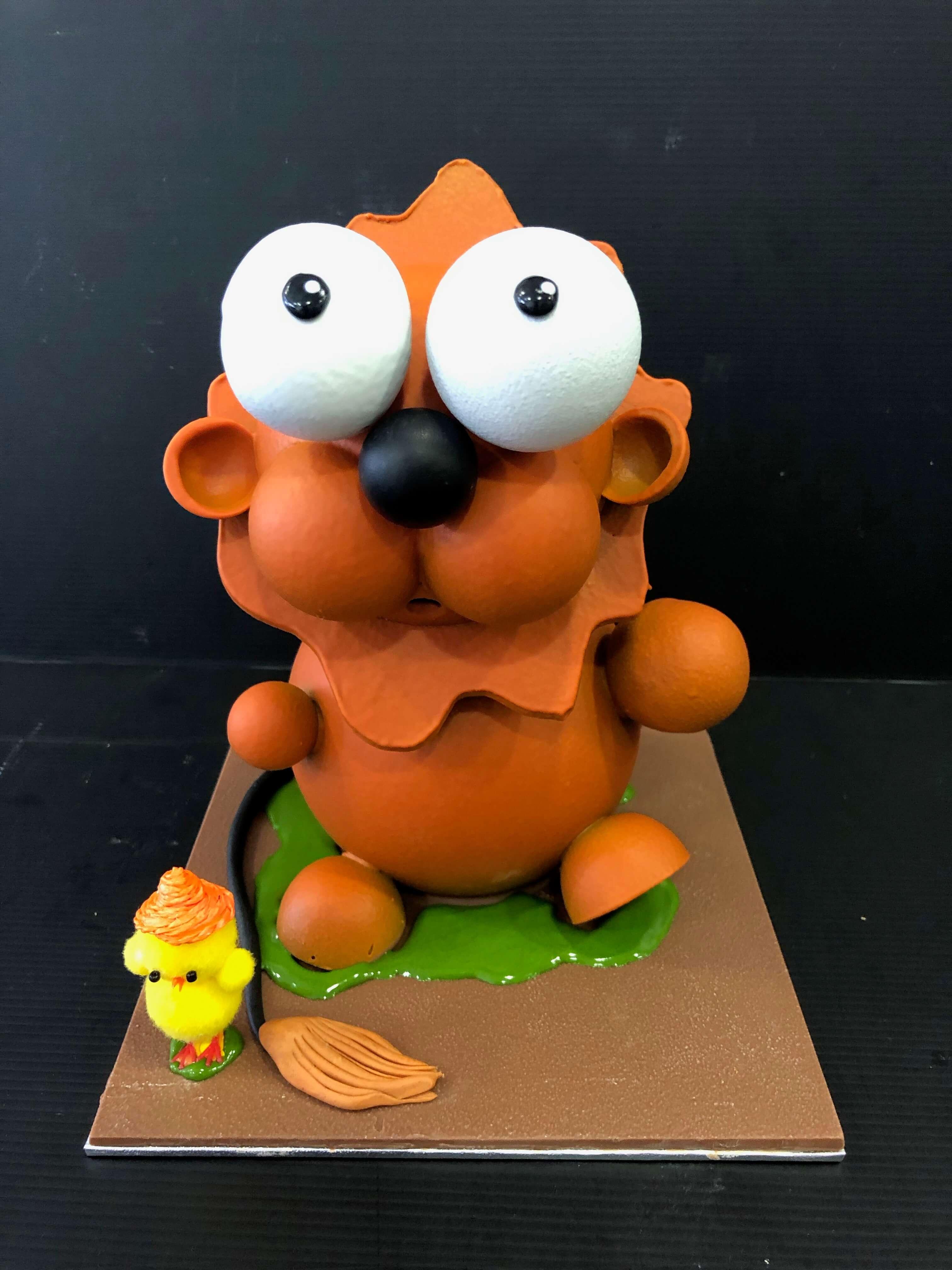 figura de pascua coruña huevo de pascua chocolate