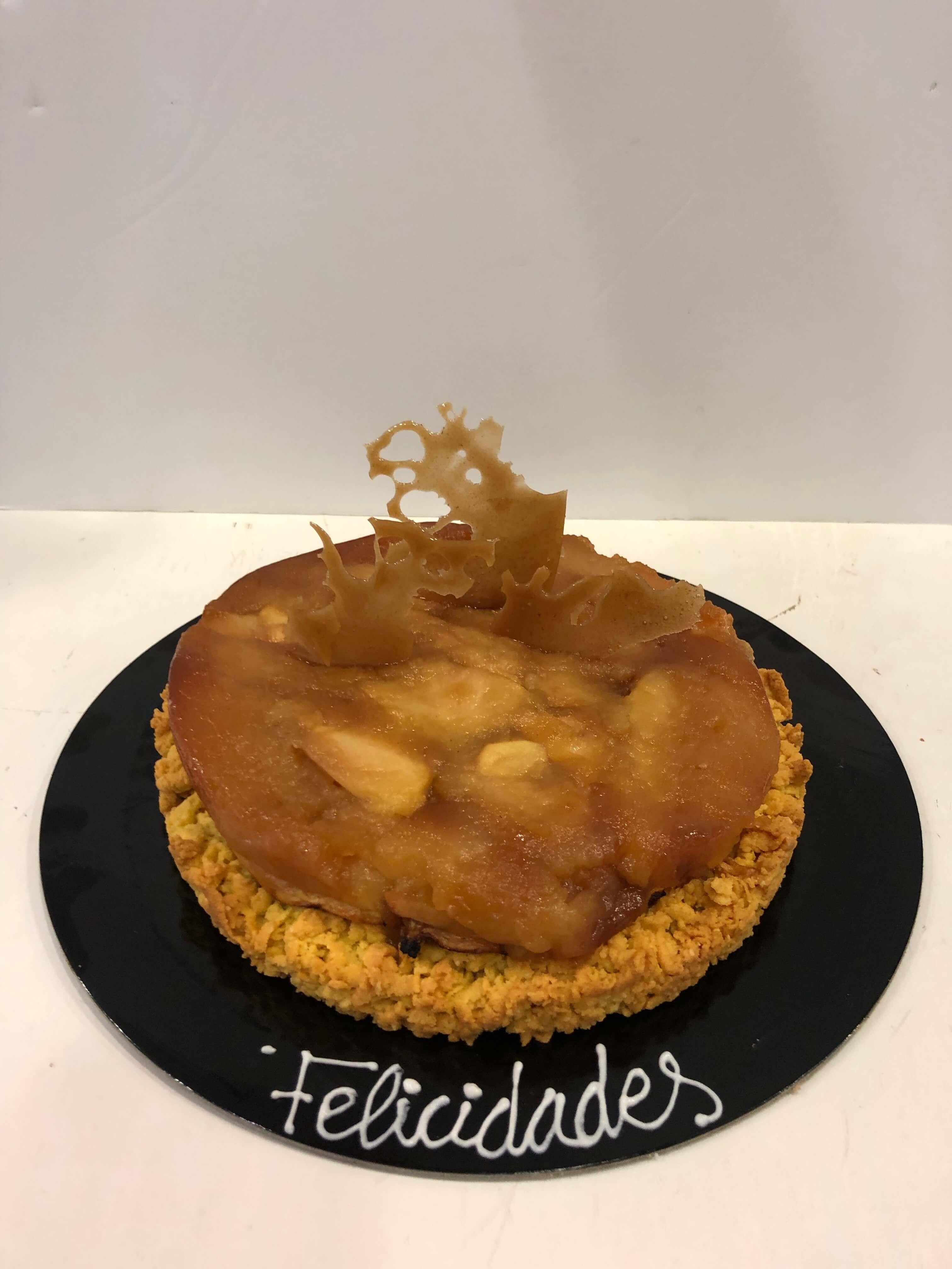 tarta tan de manzana sin azúcar coruña