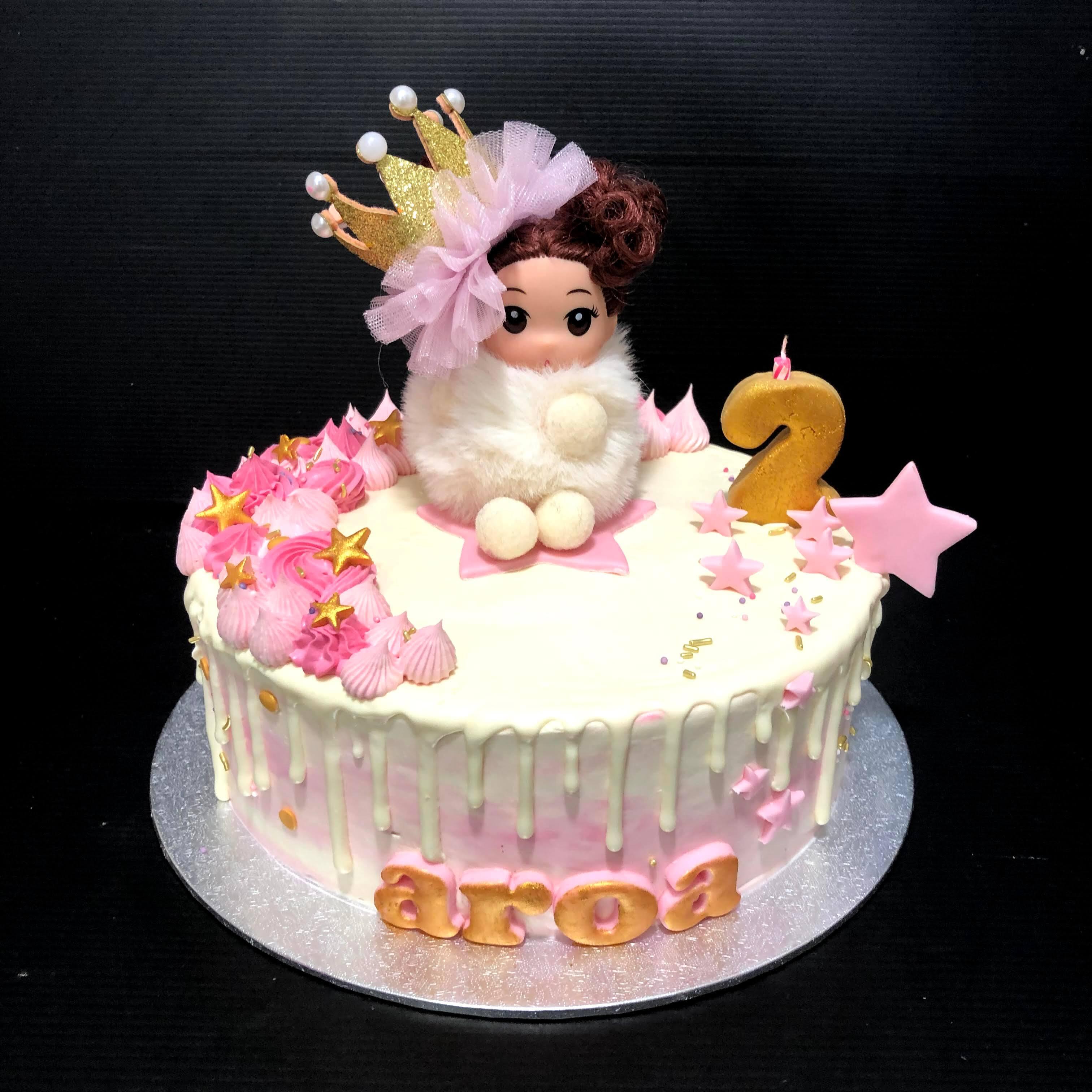 Tarta princesa cumpleaños coruña