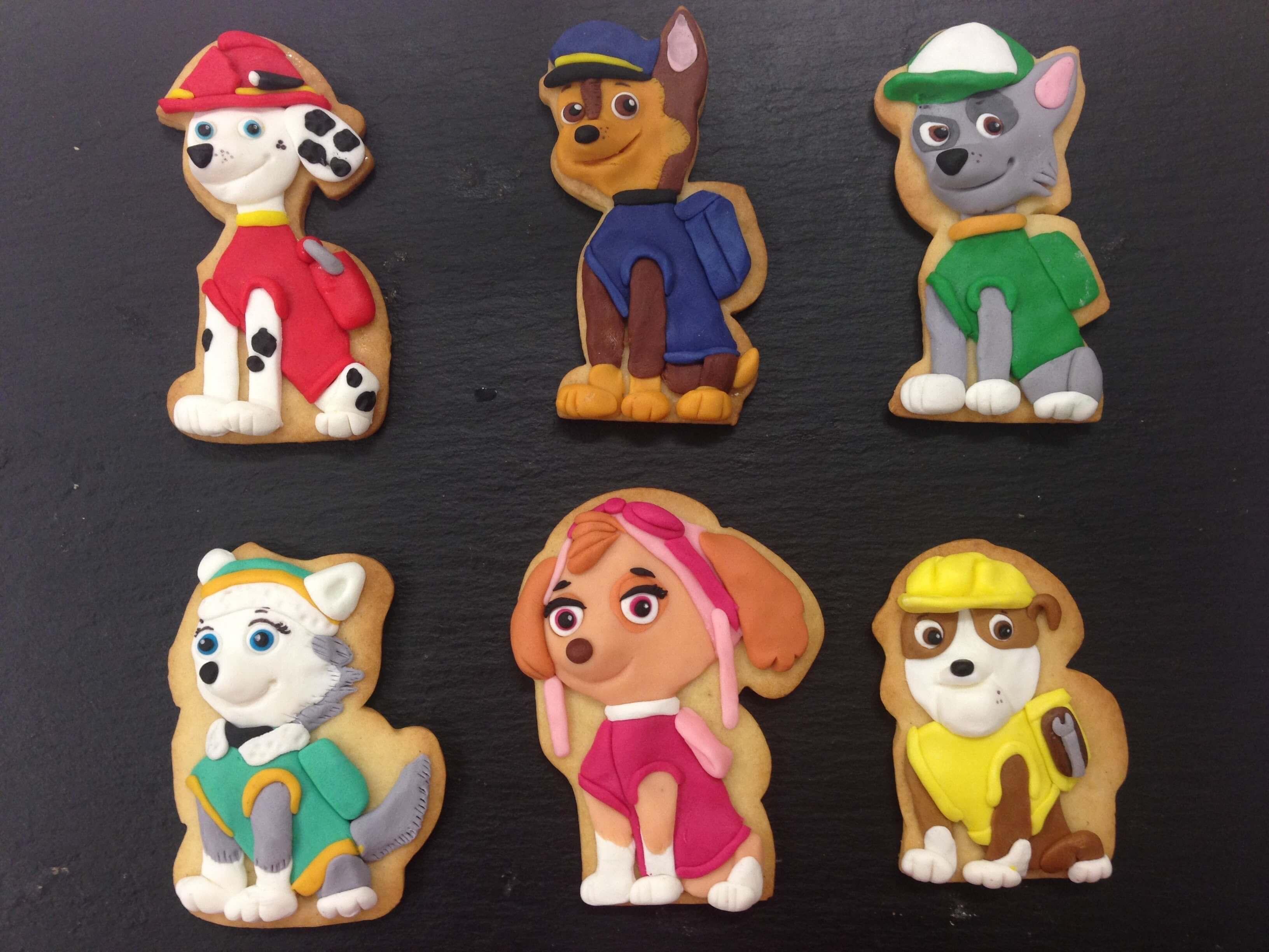 cookies paw patrol galletas patrulla canina personalizadas decoradas Coruña