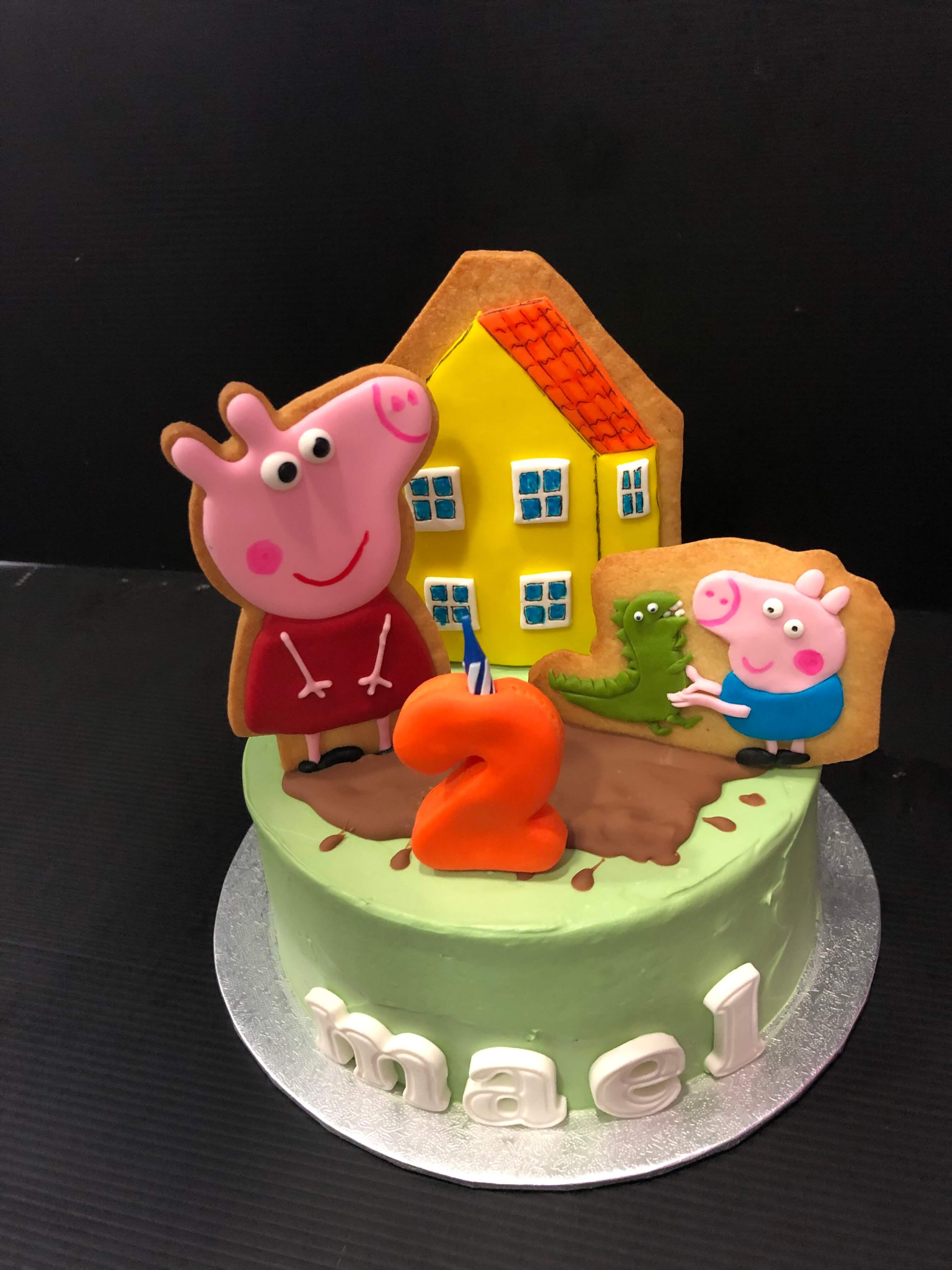 tarta peppa pig cumpleaños coruña