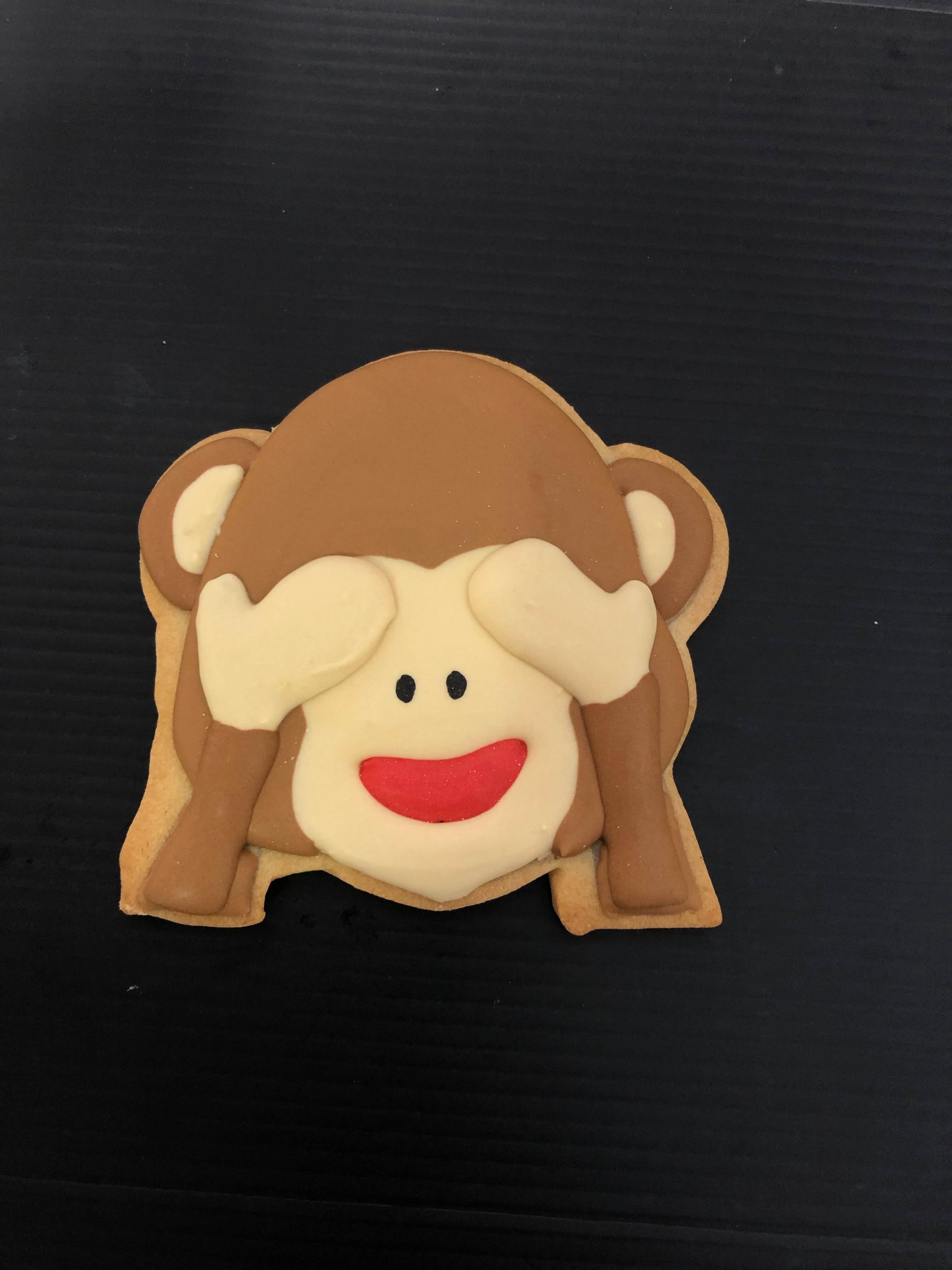 Galleta personalizada mono  Coruña