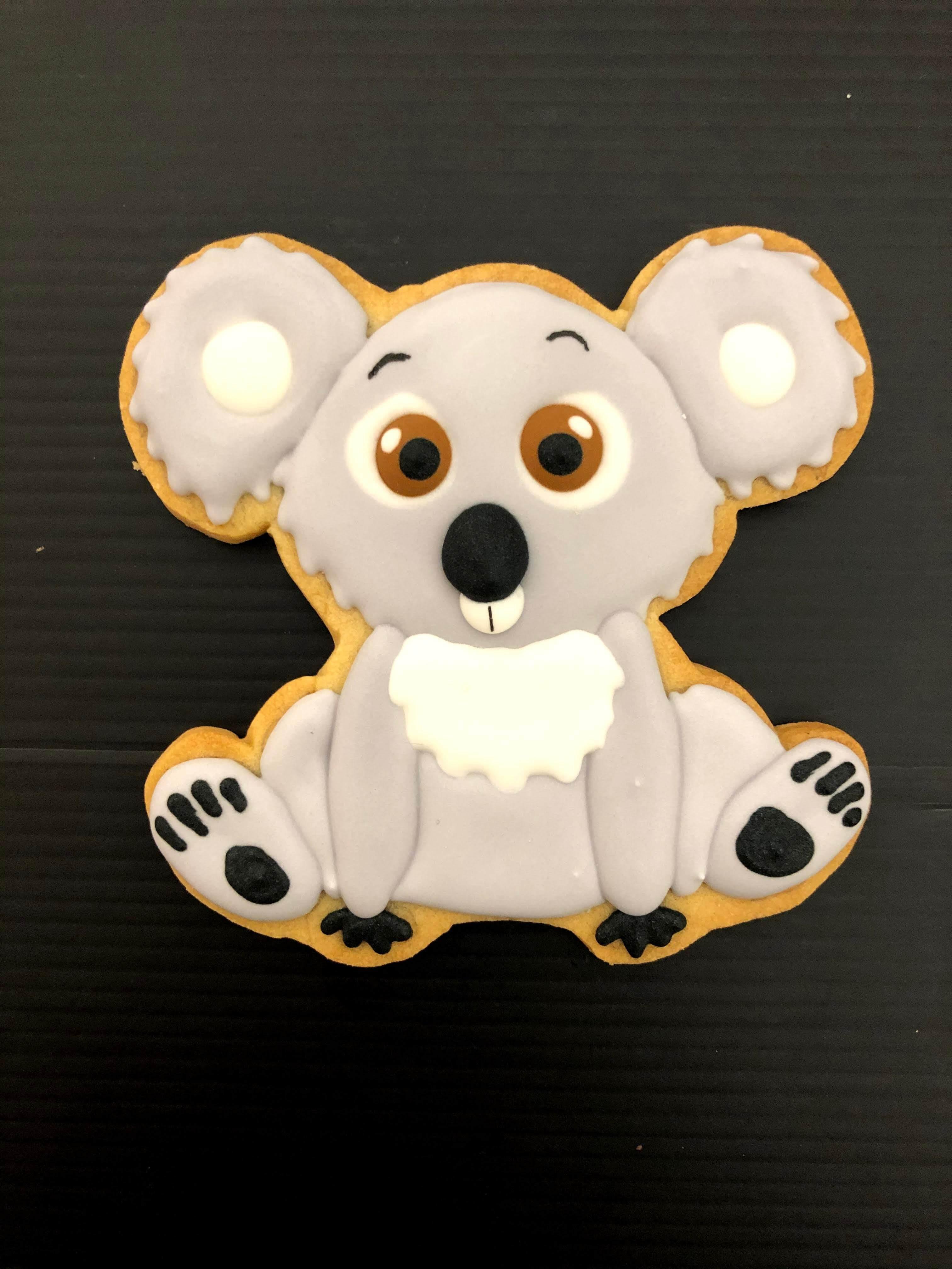 Galleta Decorada Koala personalizada coruña galleta koala