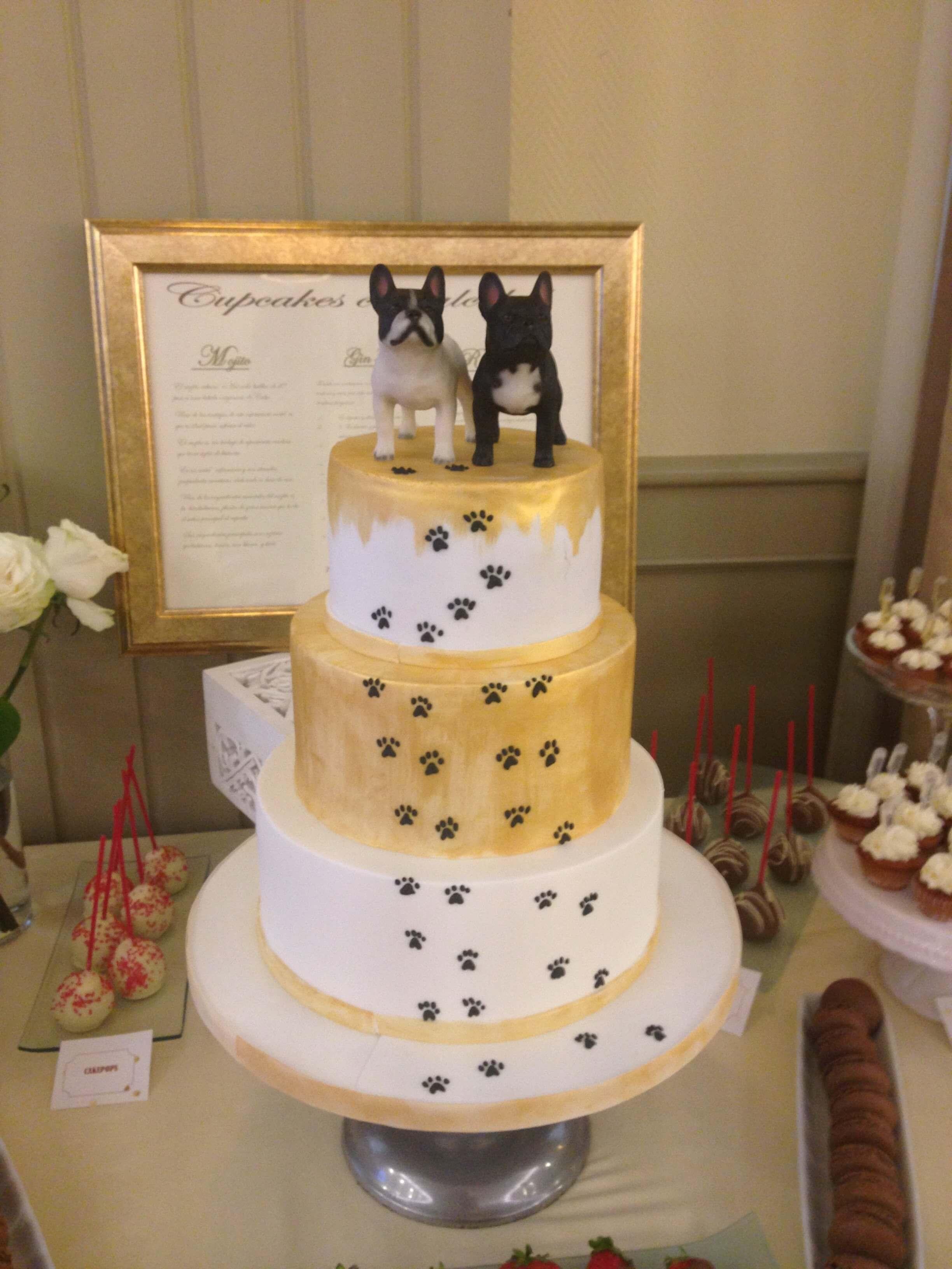 tarta boda novios coruña personalizada