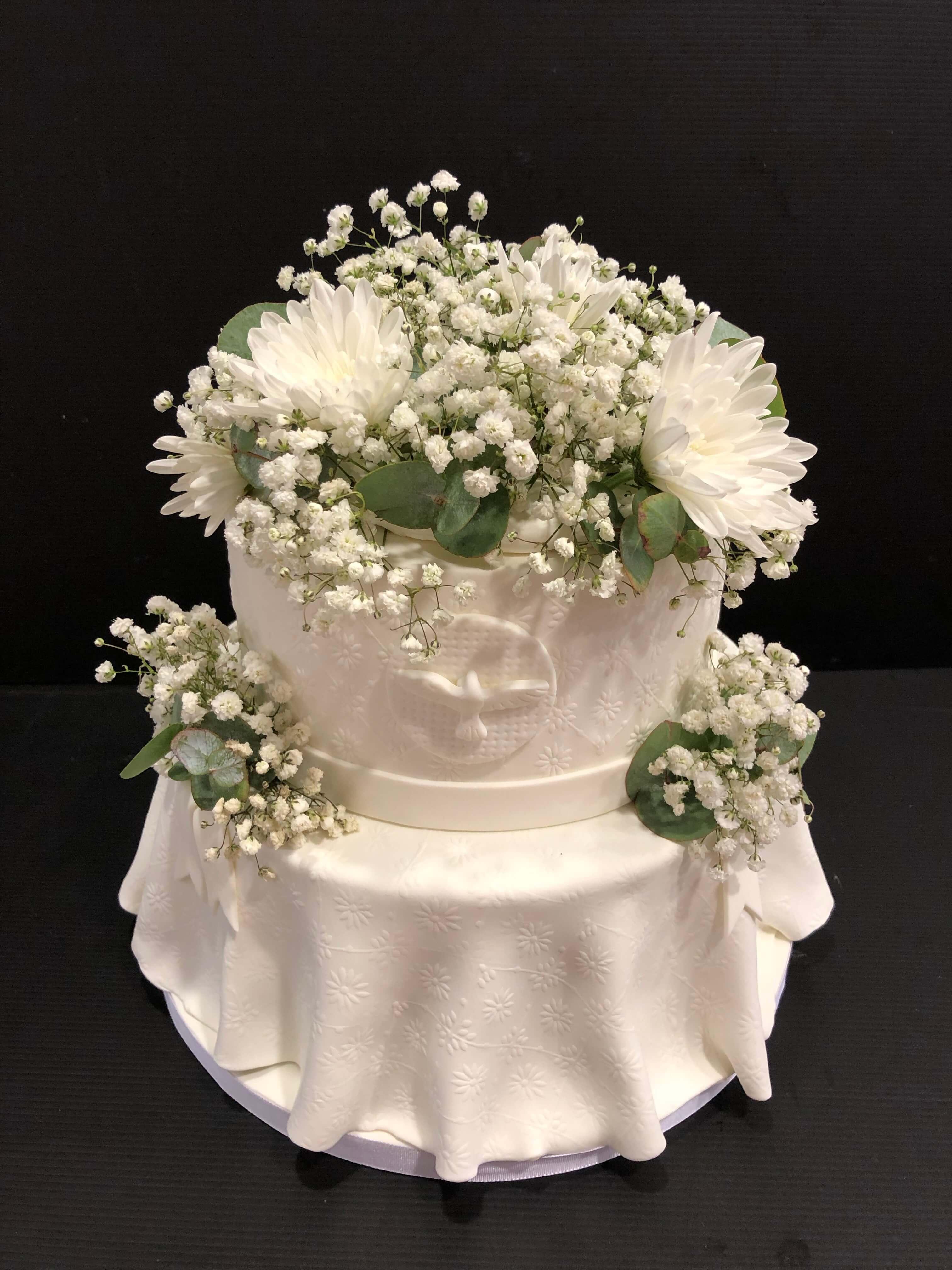 Tarta  boda coruña naked cake tarta boda desnuda coruña tarta boda  comunión  tarta flores