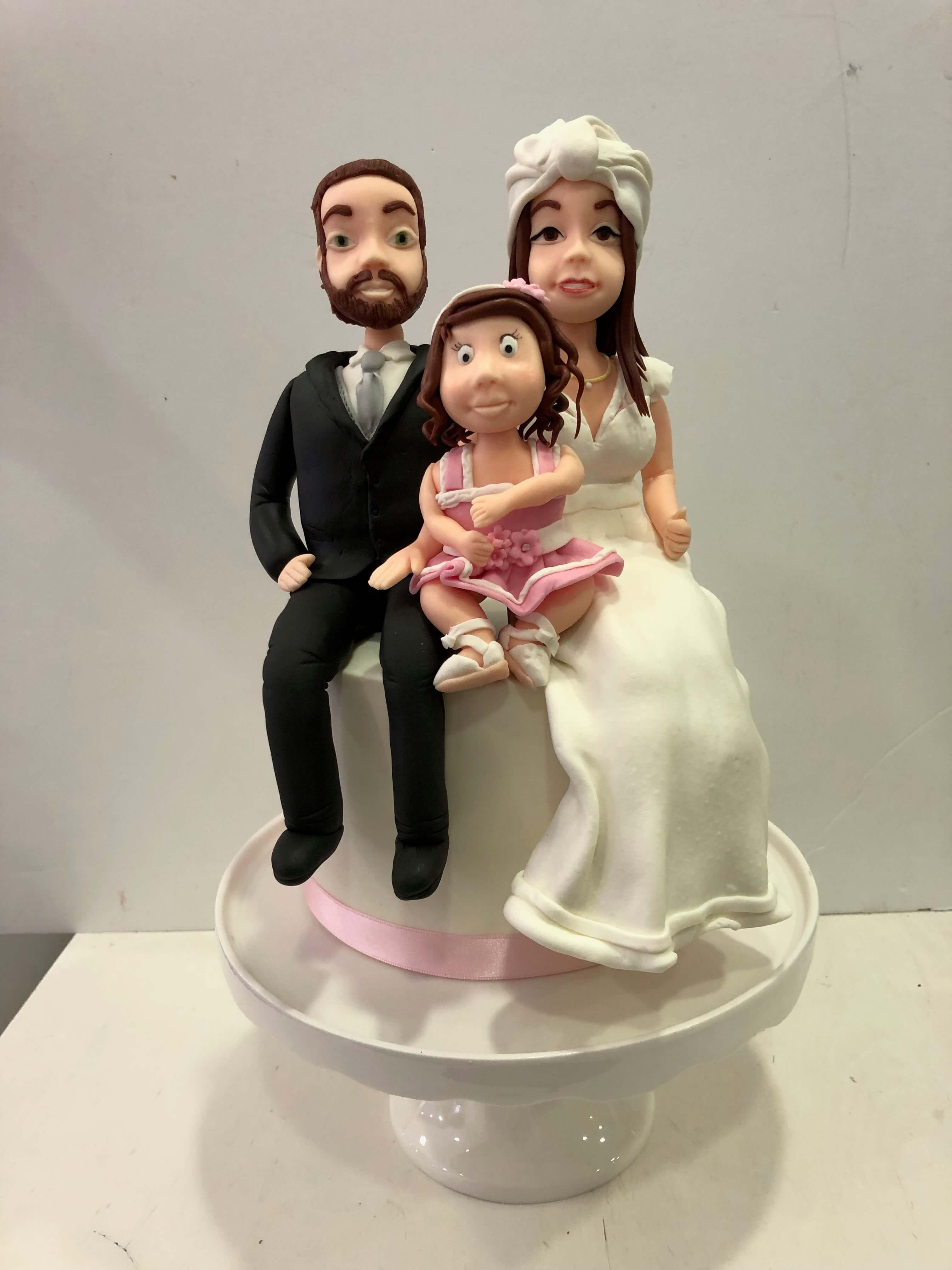 figuras de chocolate novios boda perosnalizados coruña
