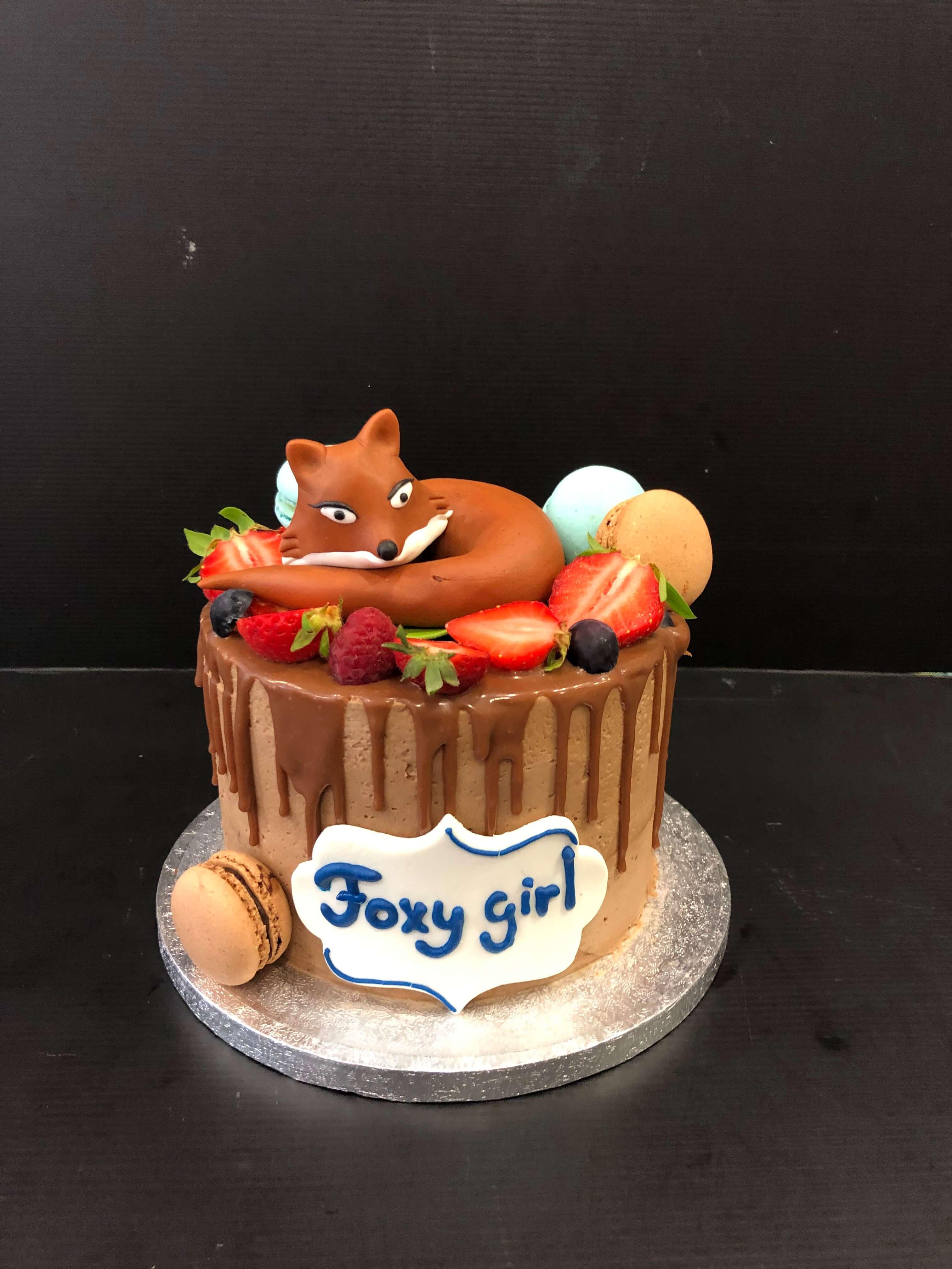 Tarta zorro Foxy