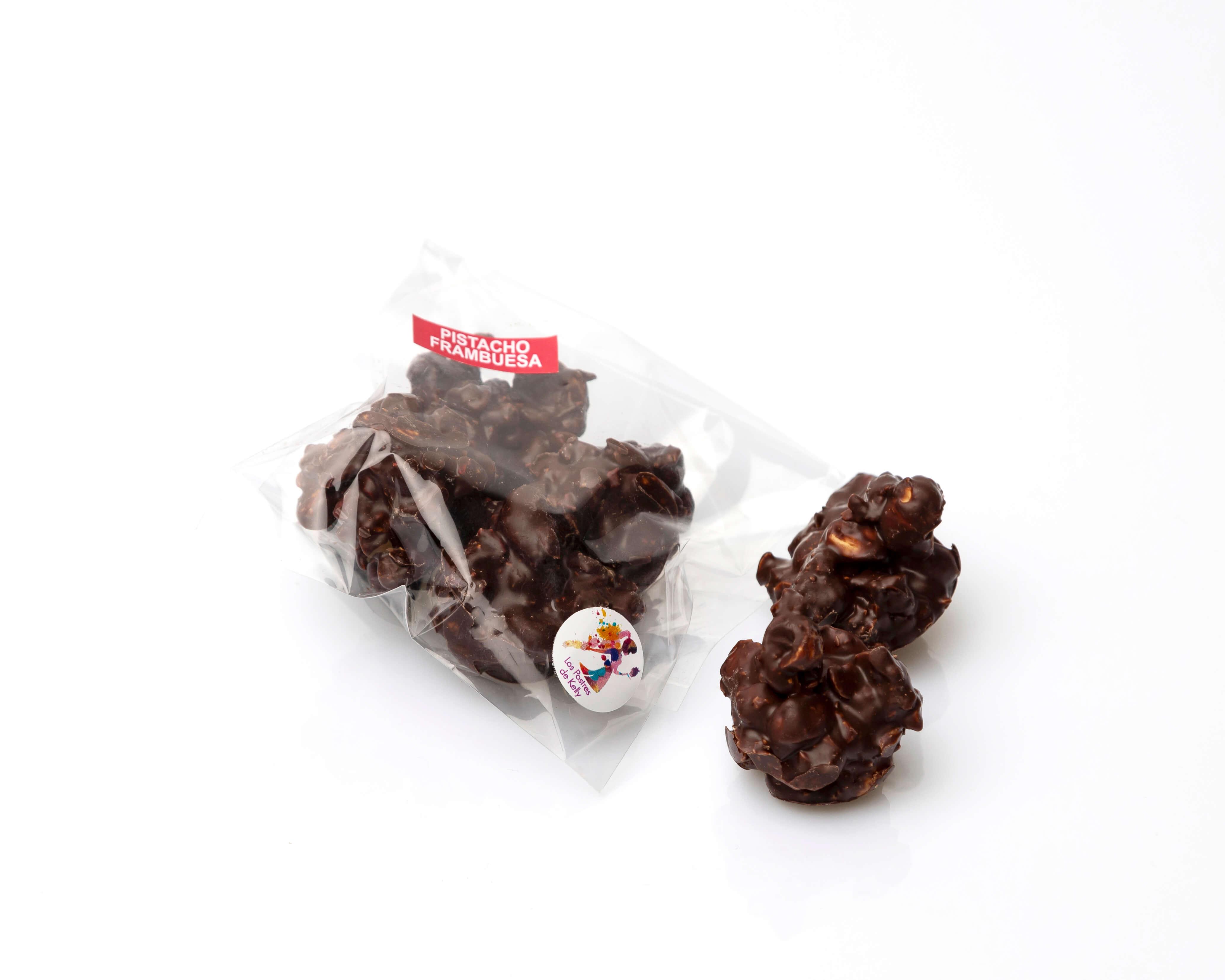 Rocas de chocolate con frutos secos coruña