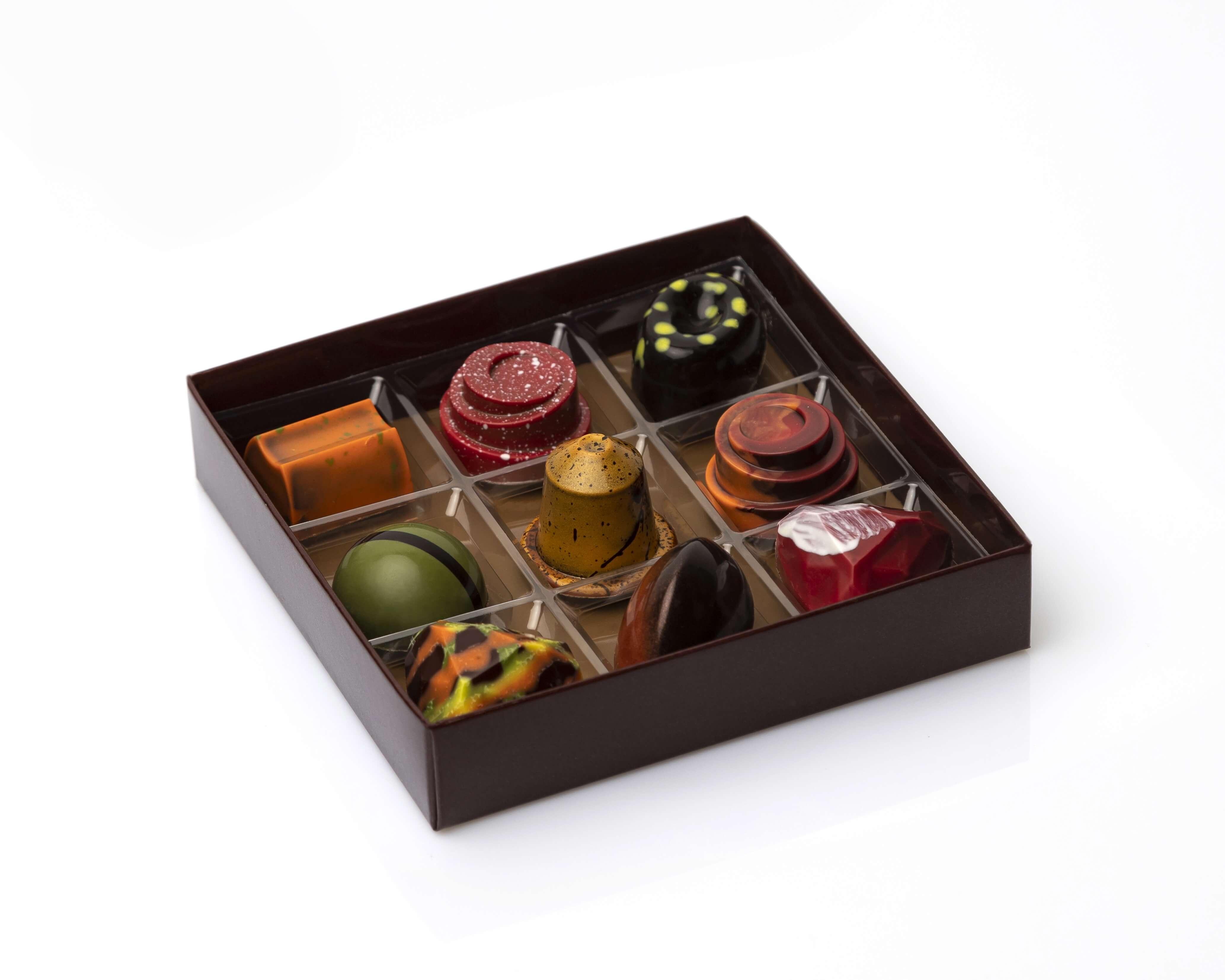 Bombones artesanos trufas de chocolate coruña chocolatería coruña bombones