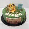 Tarta cumpleaños personalizada Simba el rey león coruña