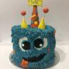 Tarta cumpleaños personalizada monstruo monstruo coruña