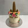 Tarta decorada cumpleaños unicornio coruña personalizada